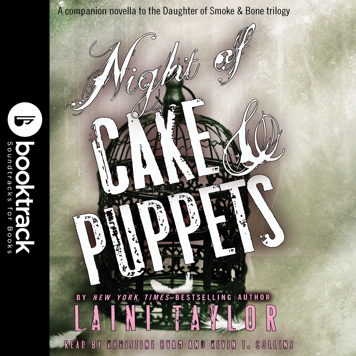 Printable Night of Cake & Puppets: Booktrack Edition Audiobook Cover Art