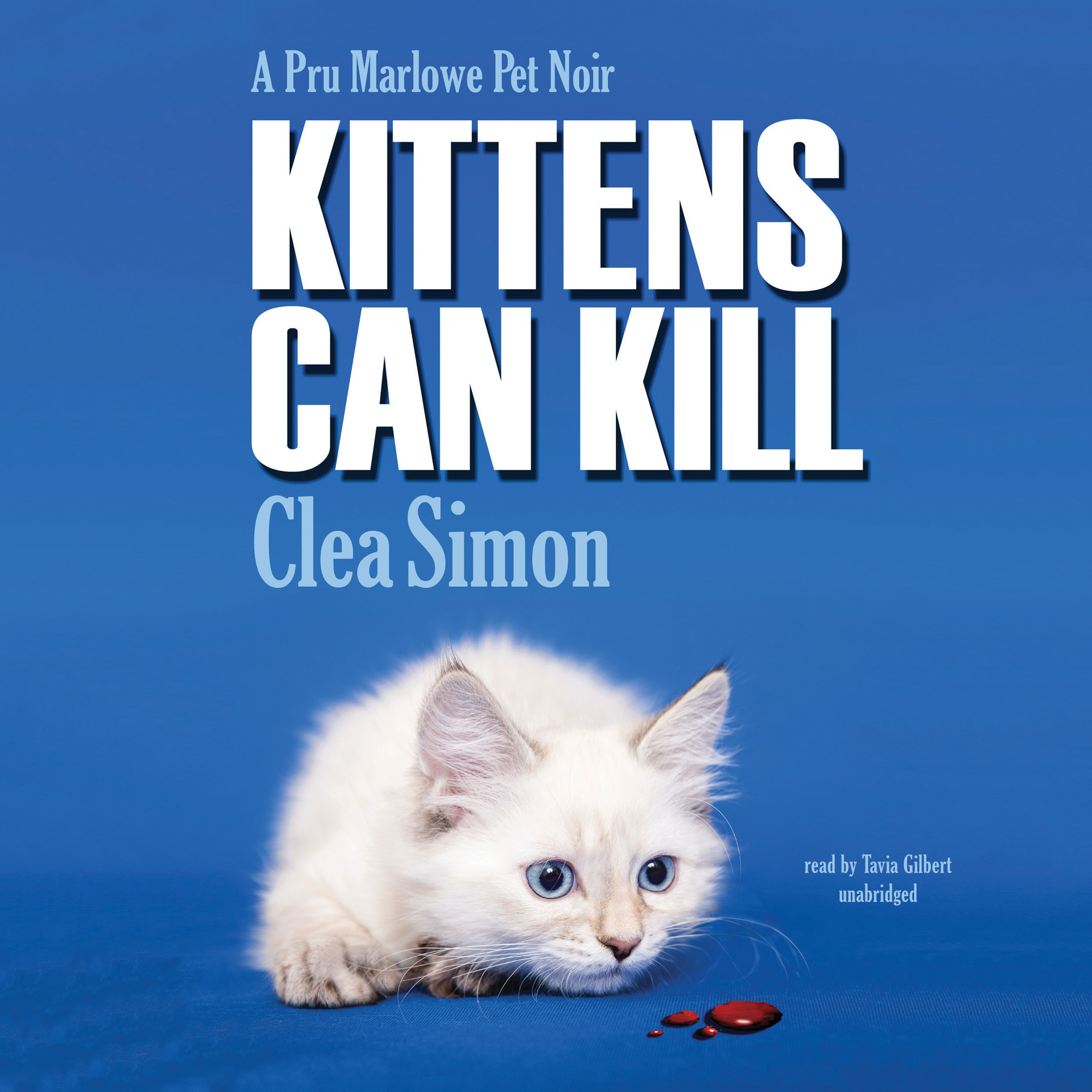 Printable Kittens Can Kill: A Pru Marlowe Pet Noir Mystery Audiobook Cover Art