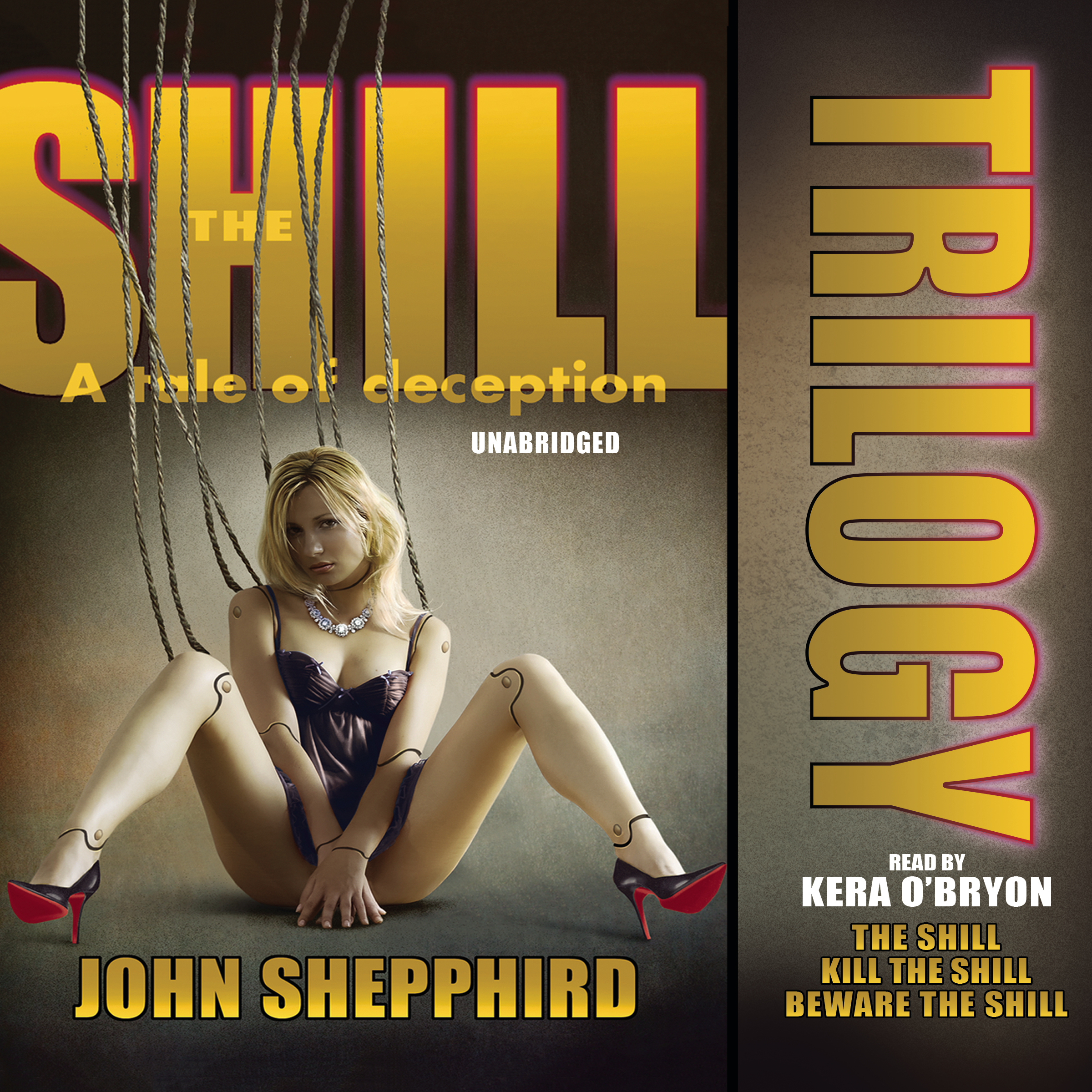 Printable The Shill Trilogy Audiobook Cover Art