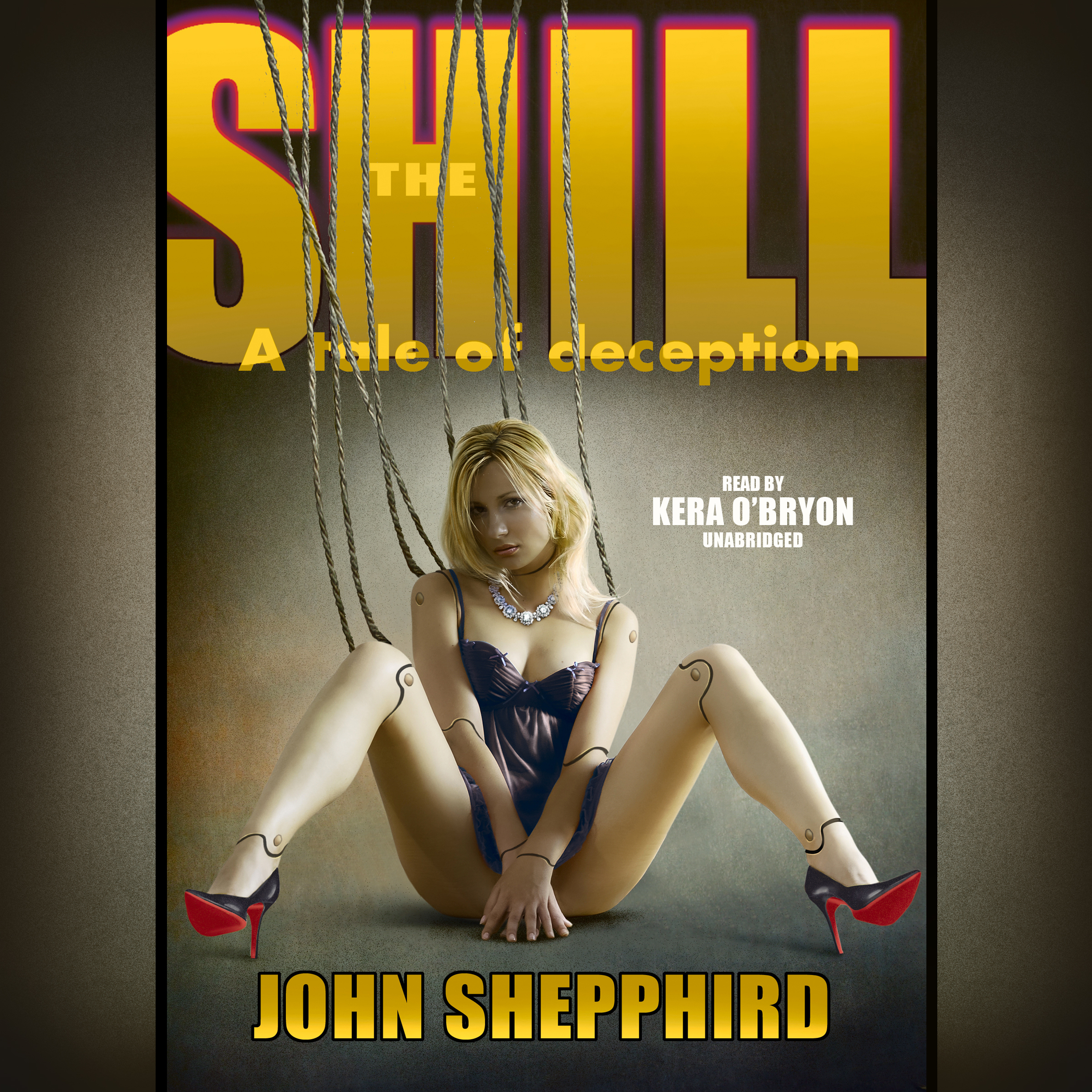 Printable The Shill Audiobook Cover Art