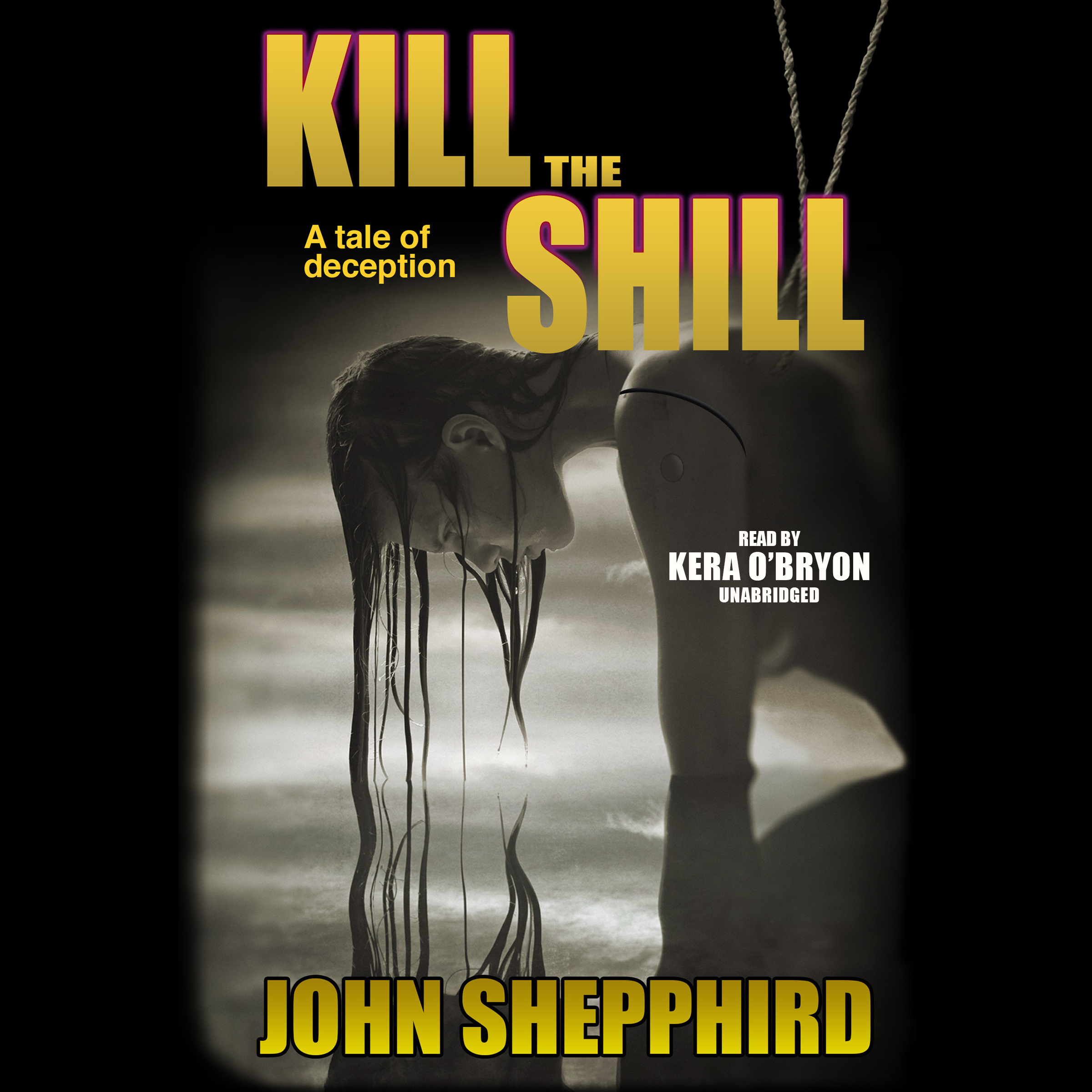 Printable Kill the Shill Audiobook Cover Art