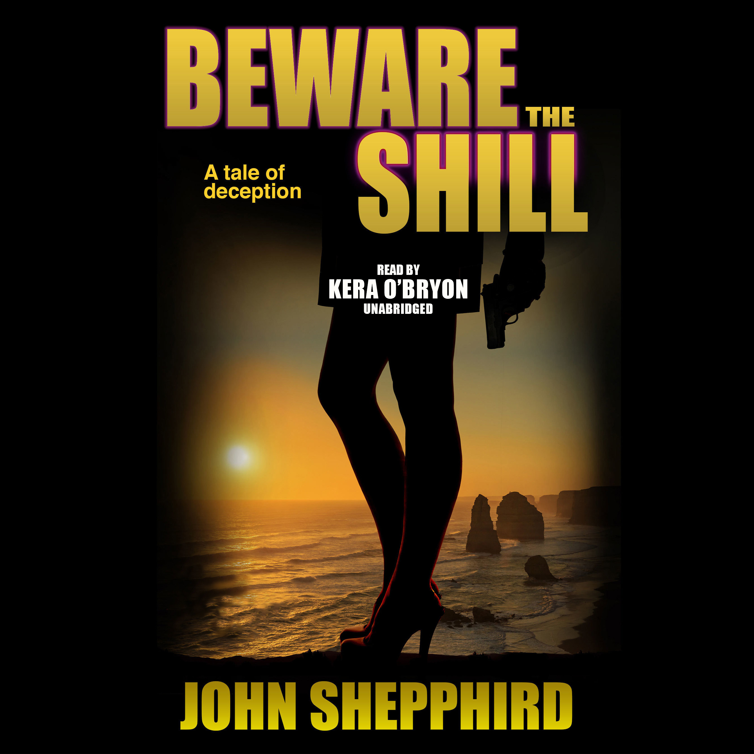 Printable Beware the Shill Audiobook Cover Art