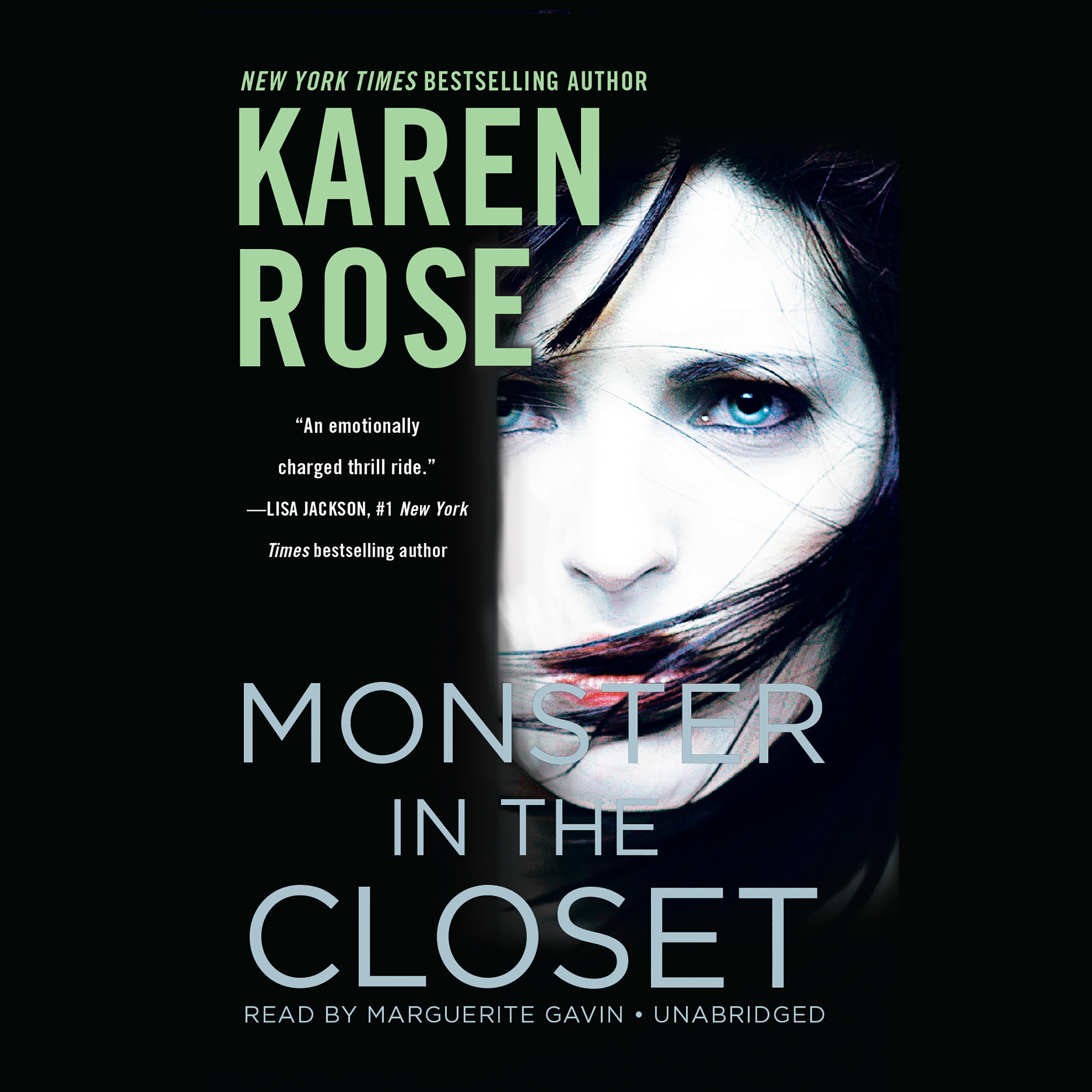 Printable Monster in the Closet Audiobook Cover Art