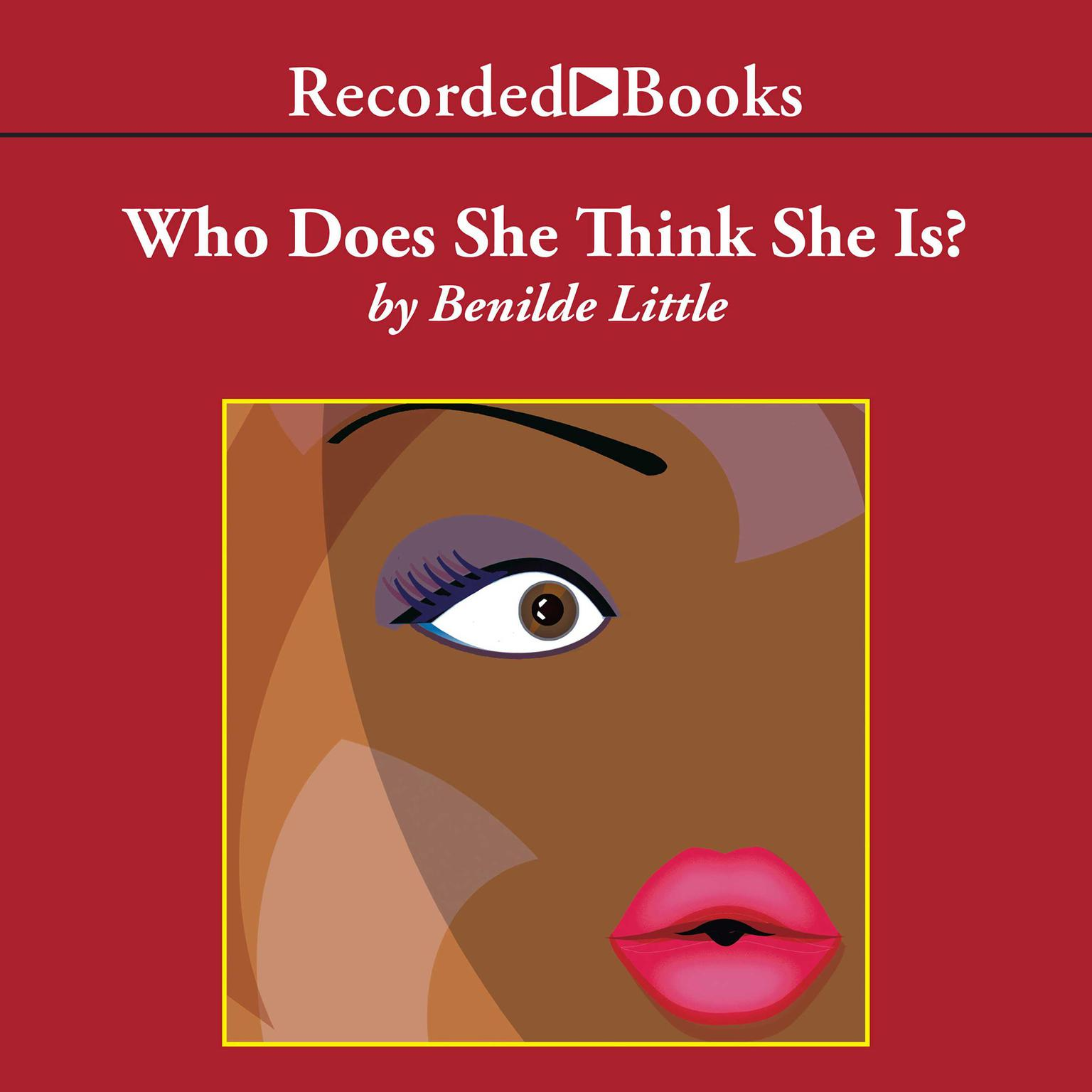 Printable Who Does She Think She Is? Audiobook Cover Art