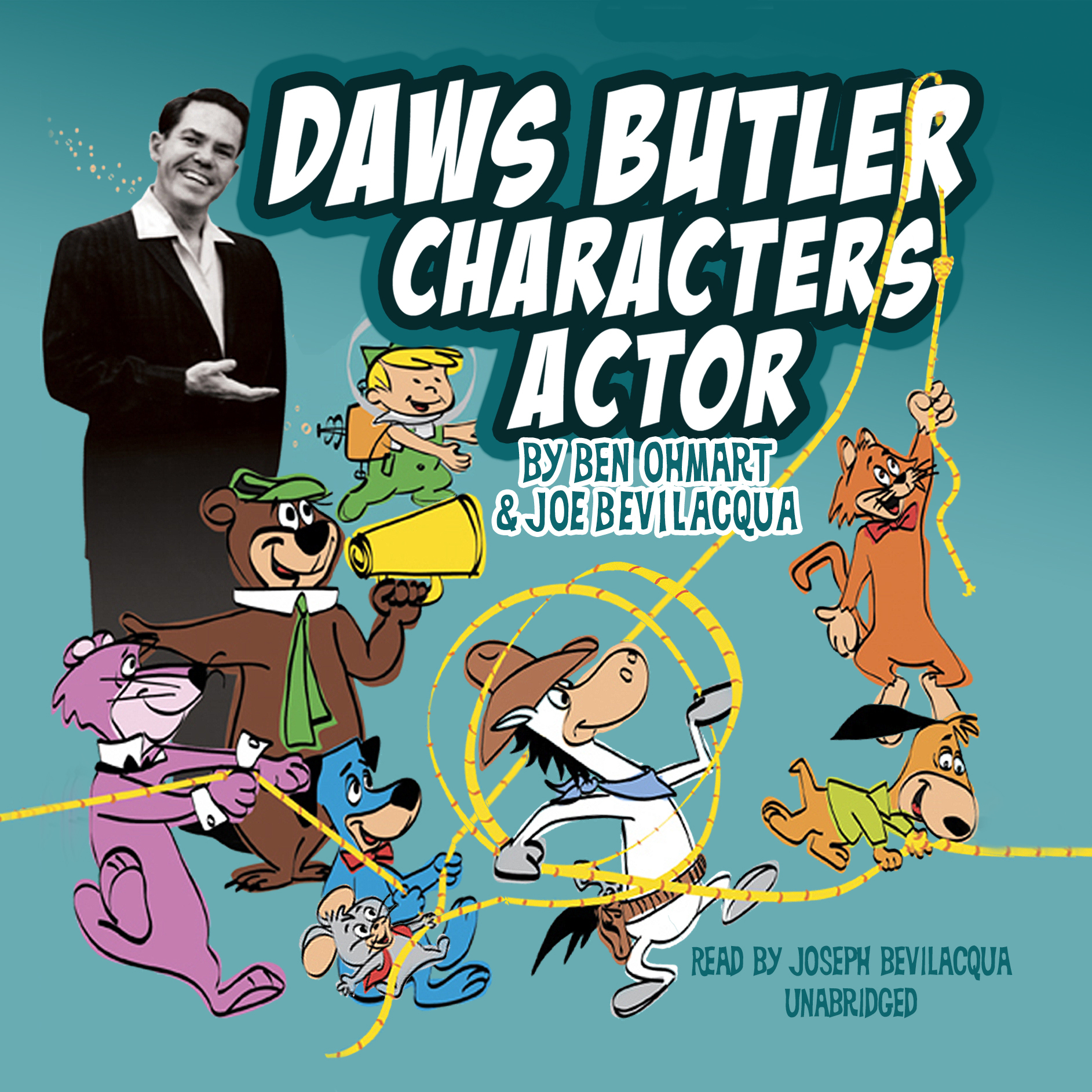 Printable Daws Butler, Characters Actor Audiobook Cover Art