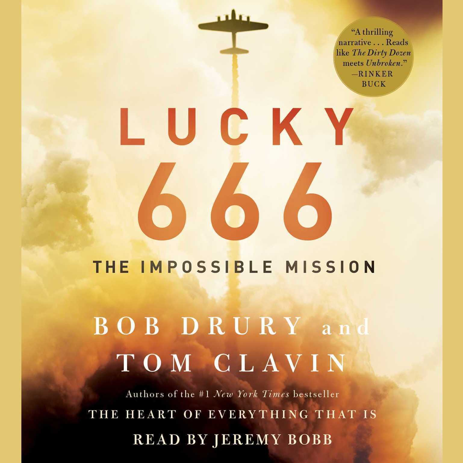 Printable Lucky 666: The Impossible Mission Audiobook Cover Art