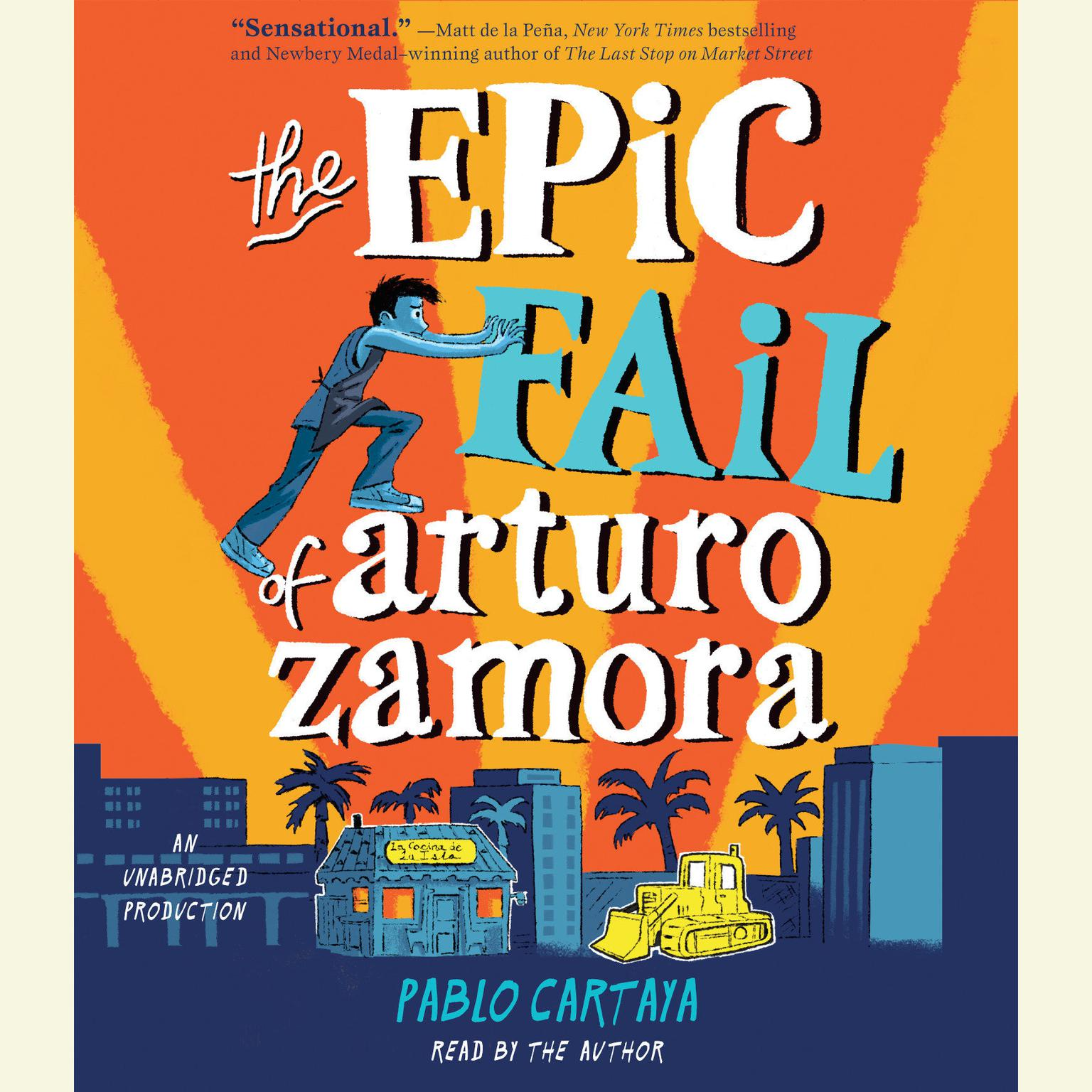 Printable The Epic Fail of Arturo Zamora Audiobook Cover Art
