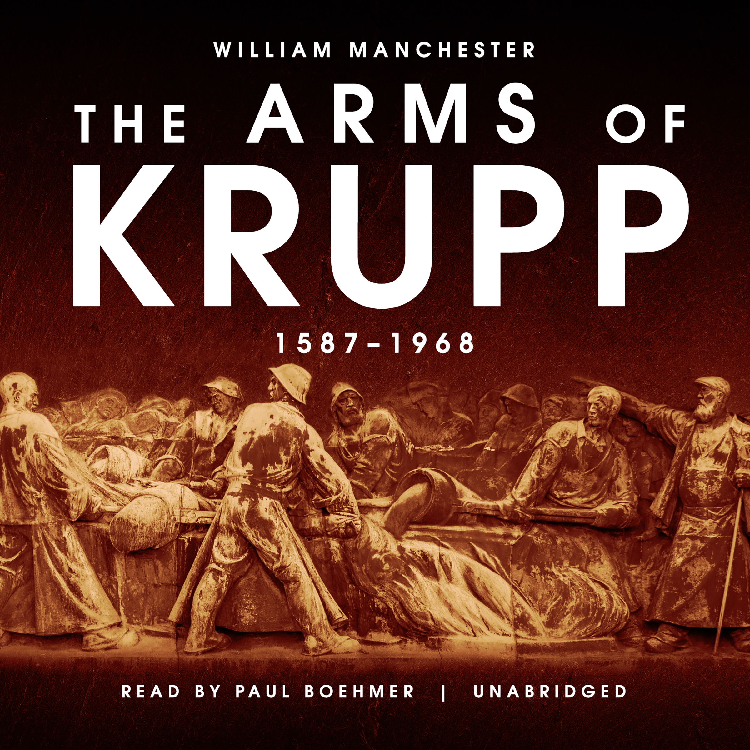 Printable The Arms of Krupp: 1587–1968 Audiobook Cover Art