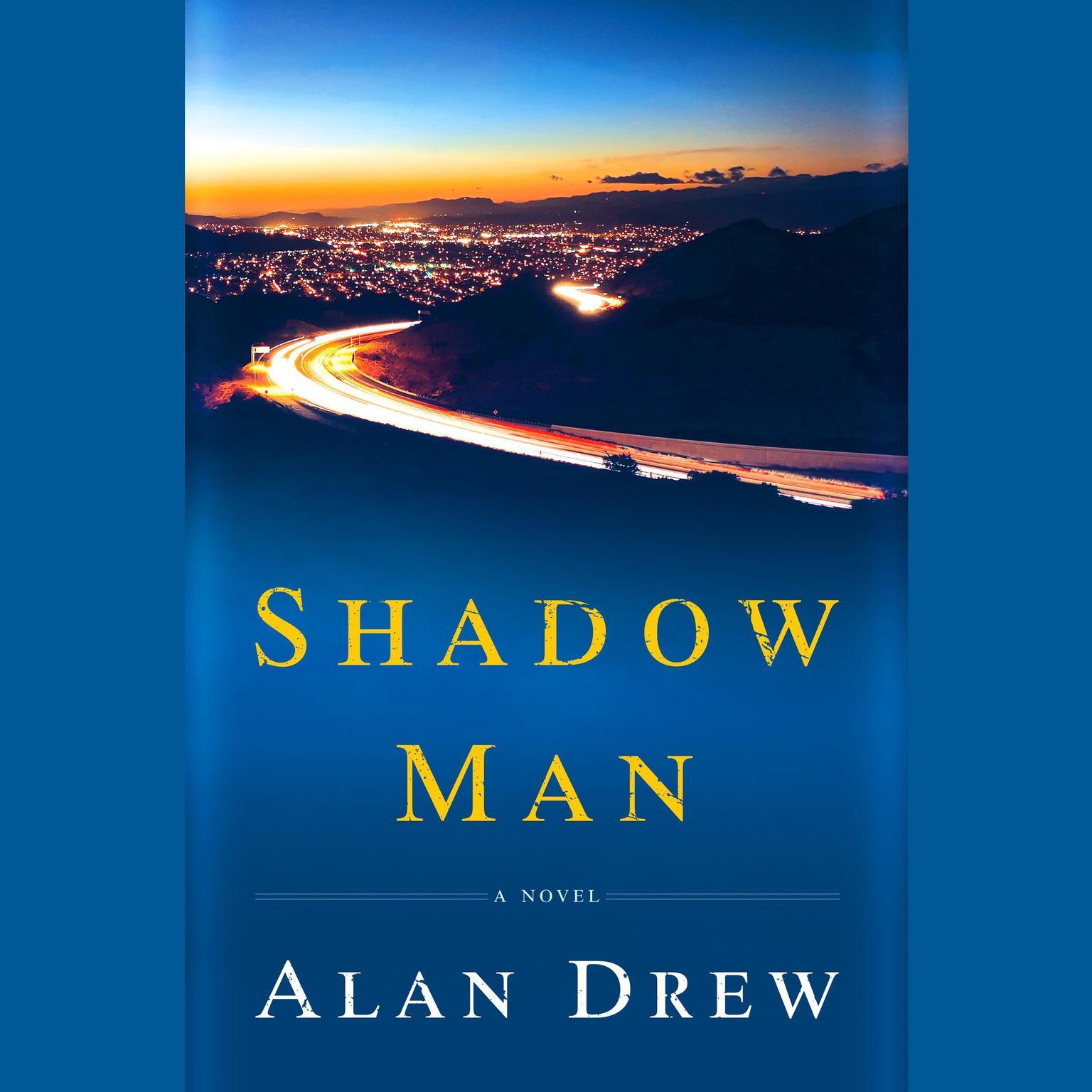 Printable Shadow Man: A Novel Audiobook Cover Art