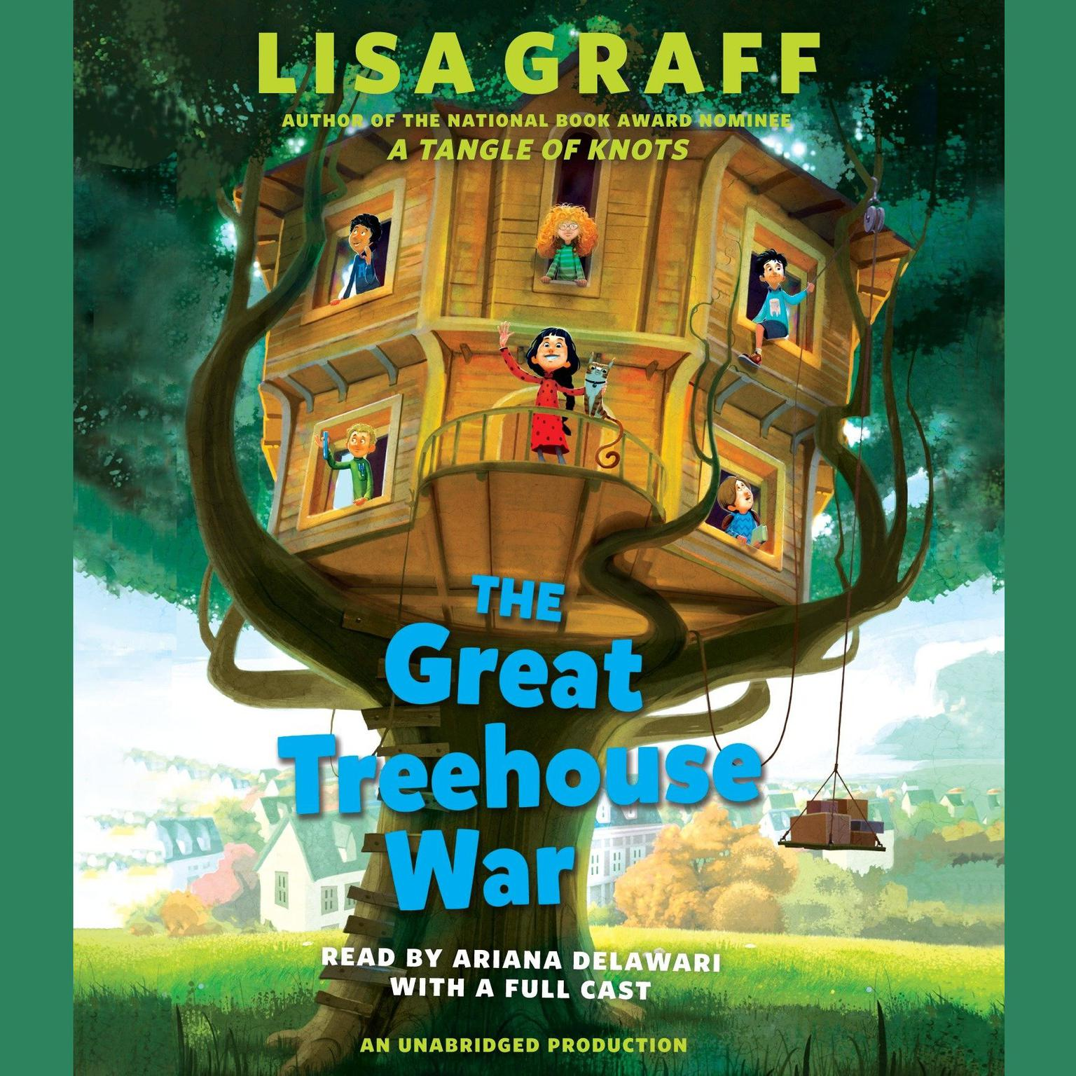 Printable The Great Treehouse War Audiobook Cover Art