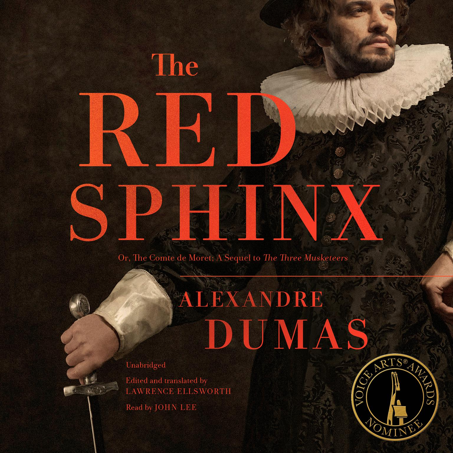Printable The Red Sphinx: Or, The Comte de Moret; A Sequel to The Three Musketeers Audiobook Cover Art
