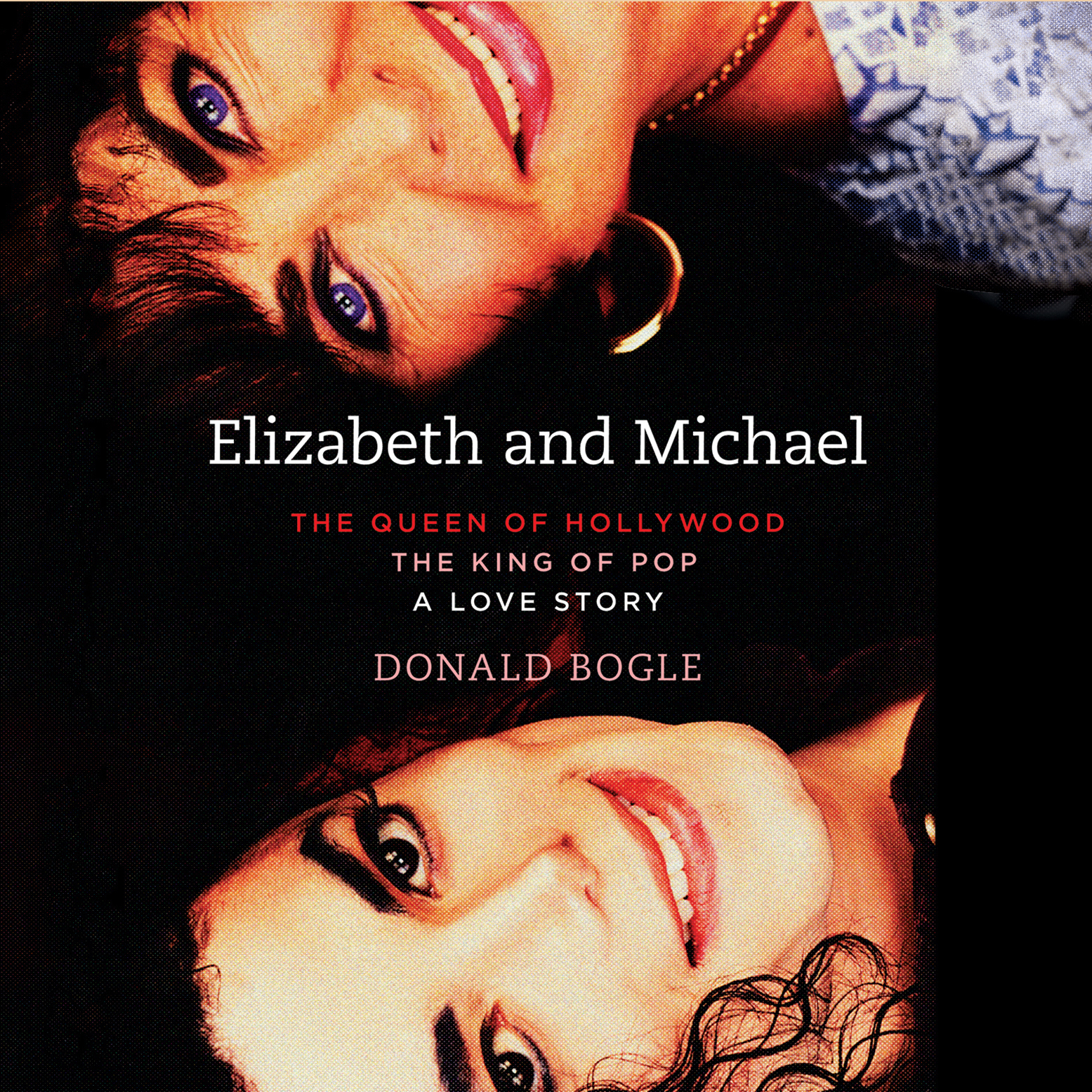 Printable Elizabeth and Michael: The Queen of Hollywood and The King of Pop - A Love Story Audiobook Cover Art