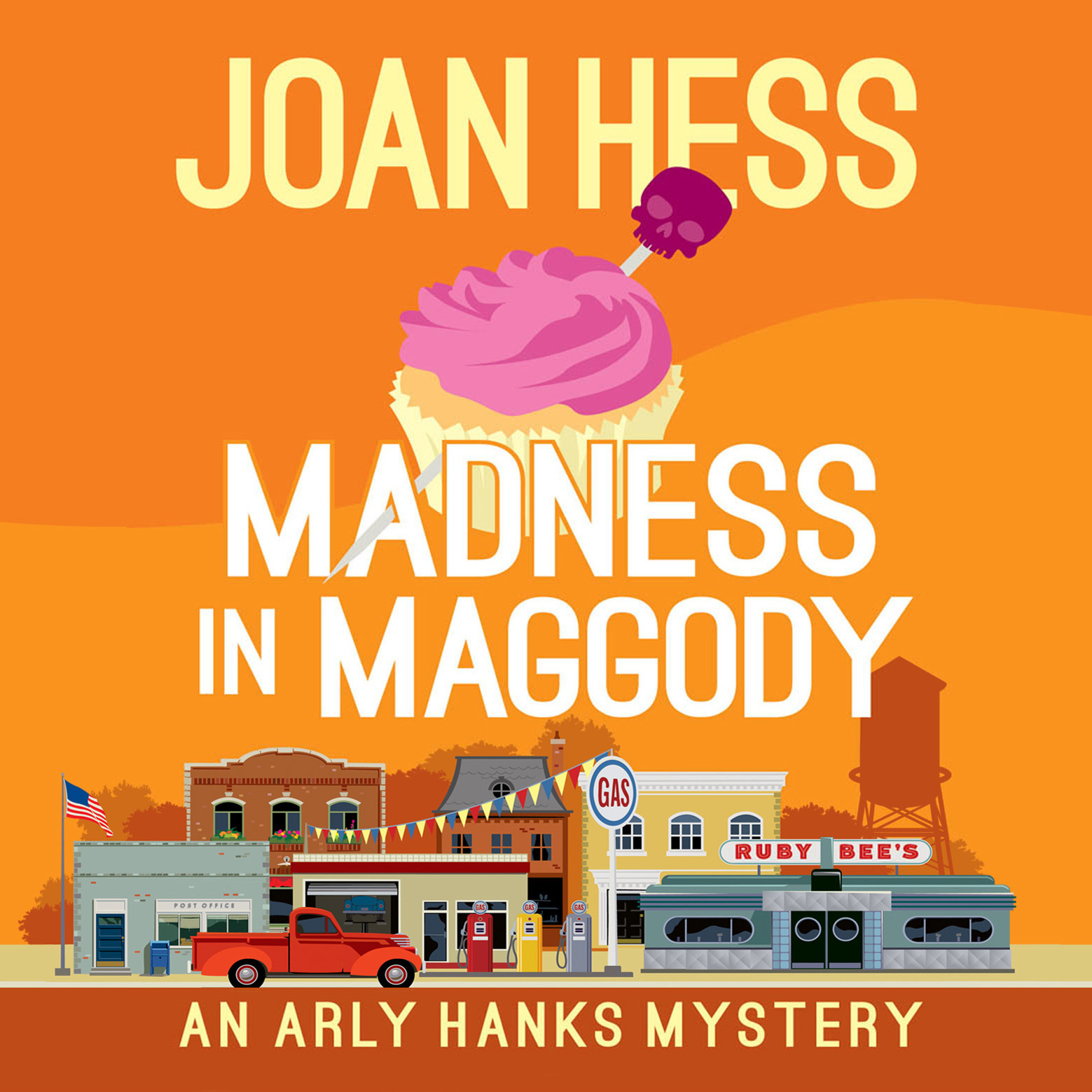 Printable Madness in Maggody Audiobook Cover Art