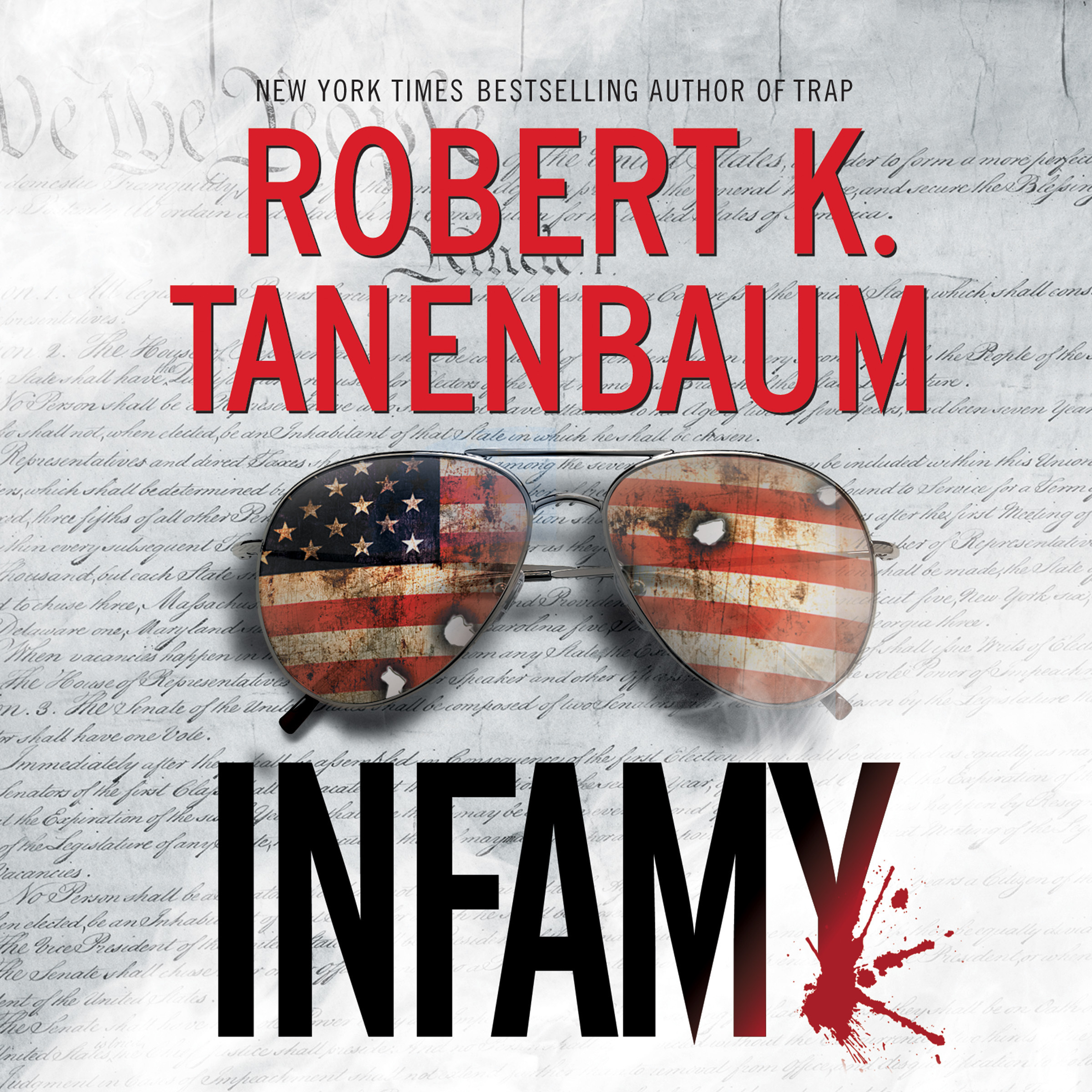 Printable Infamy Audiobook Cover Art