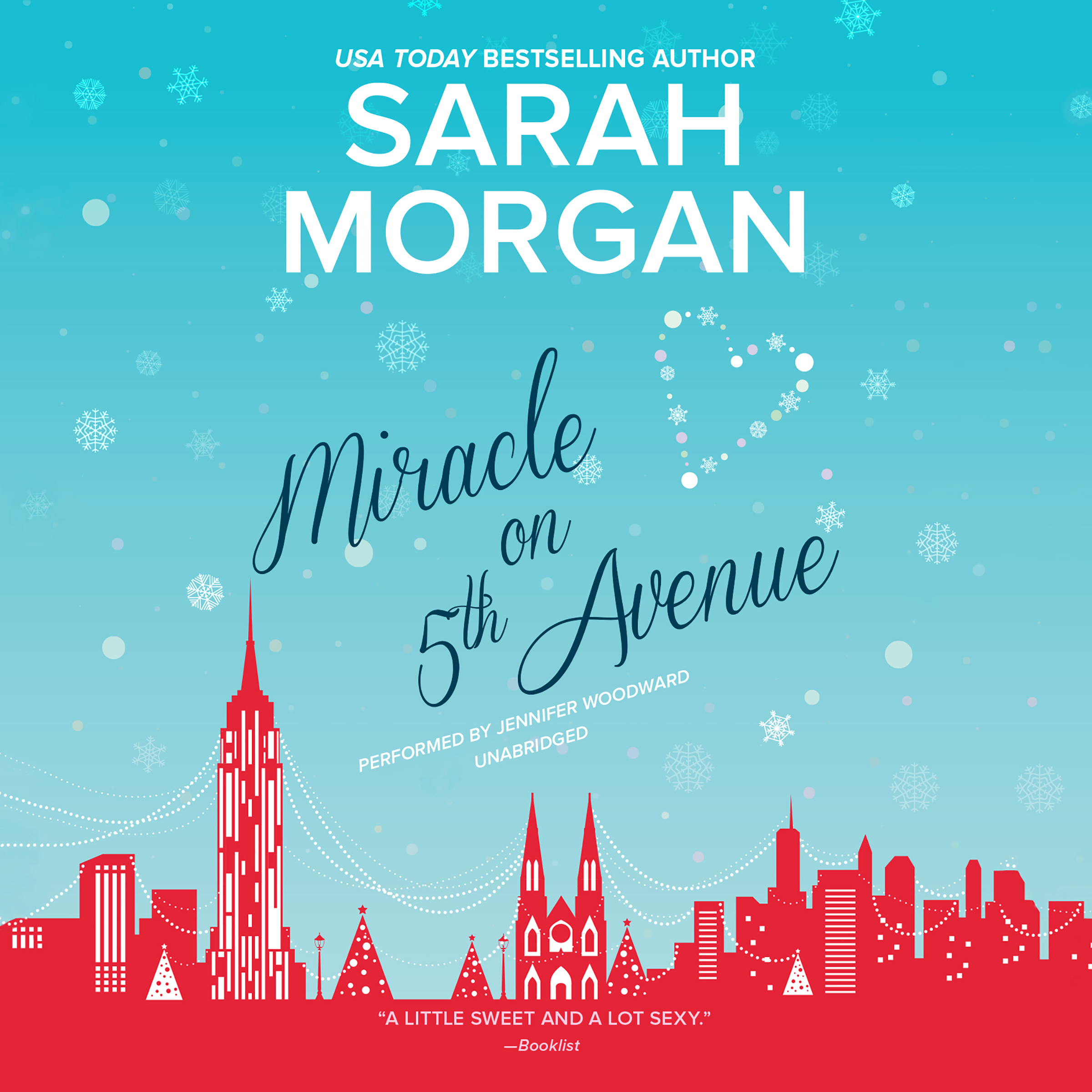 Printable Miracle on 5th Avenue: From Manhattan with Love, #3 Audiobook Cover Art