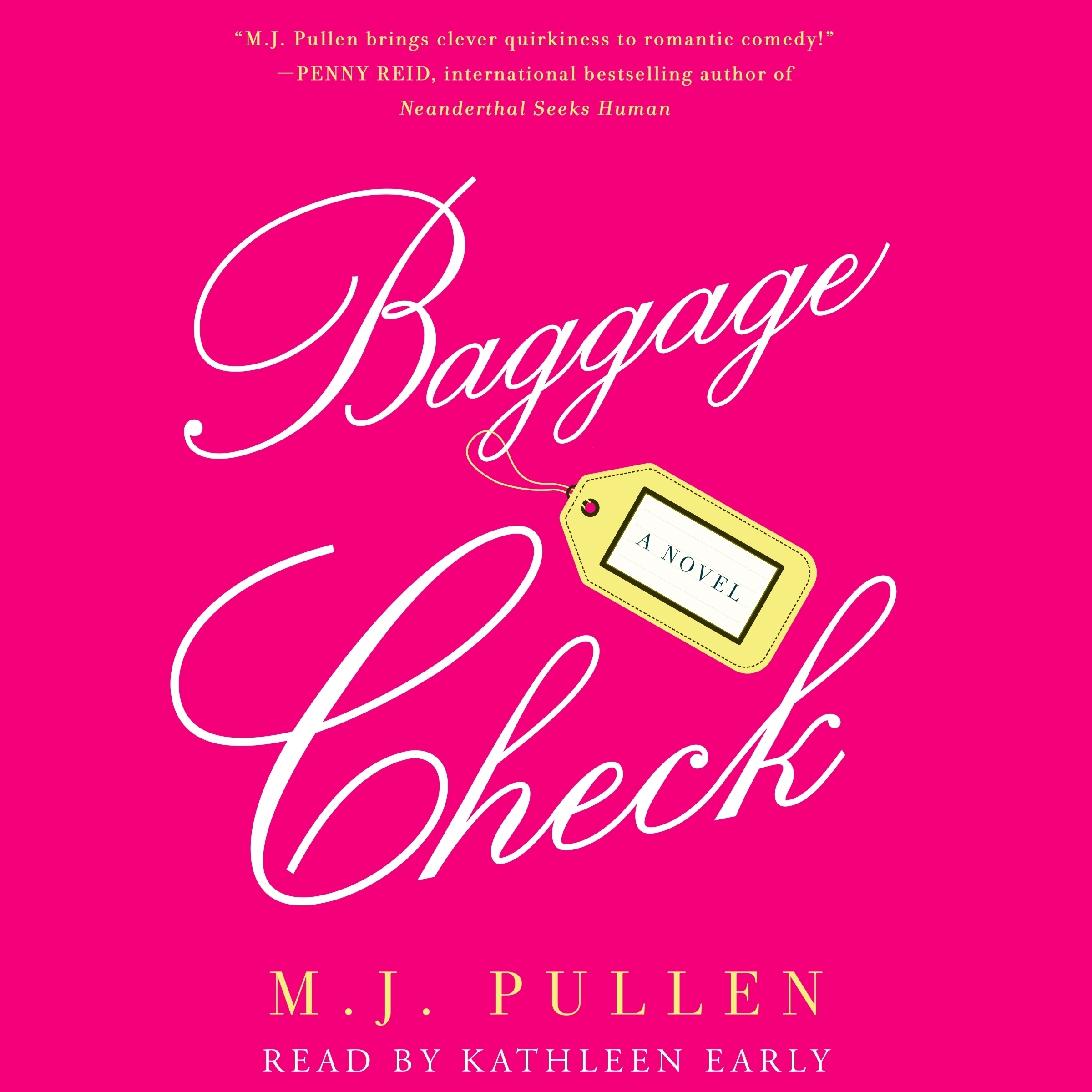 Printable Baggage Check: A Novel Audiobook Cover Art