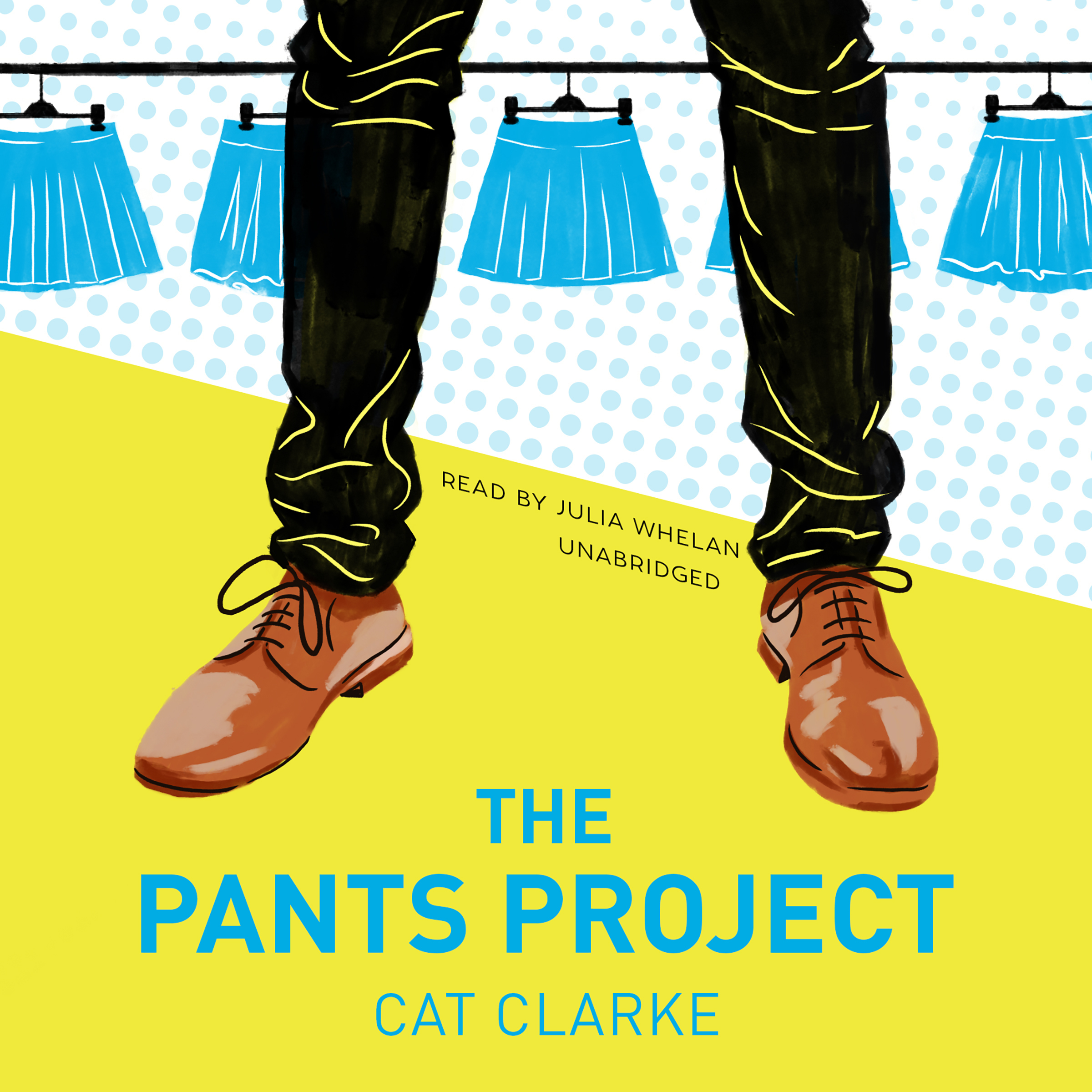 Printable The Pants Project Audiobook Cover Art