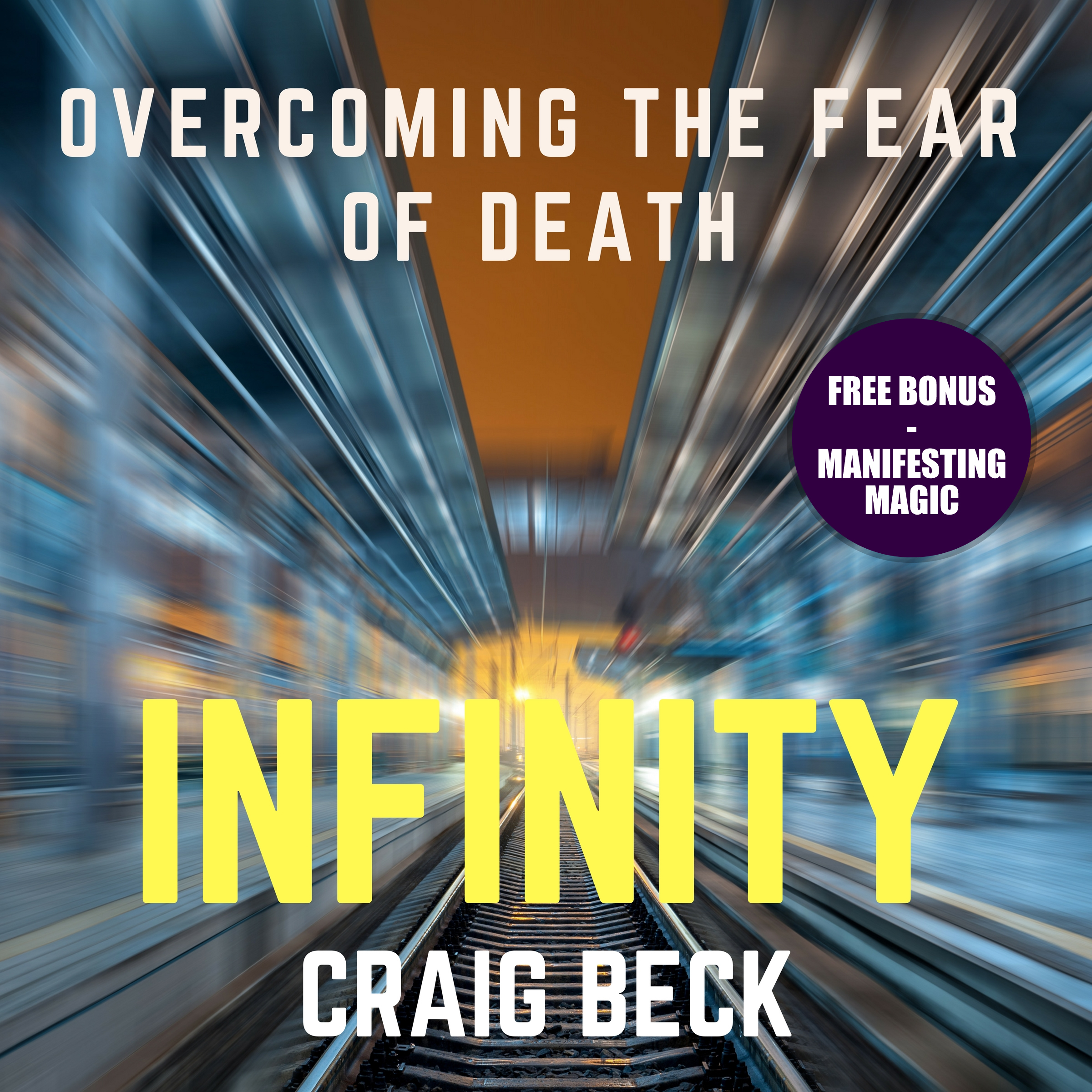 Printable Infinity: Overcoming the Fear of Death (Bonus Edition) Audiobook Cover Art