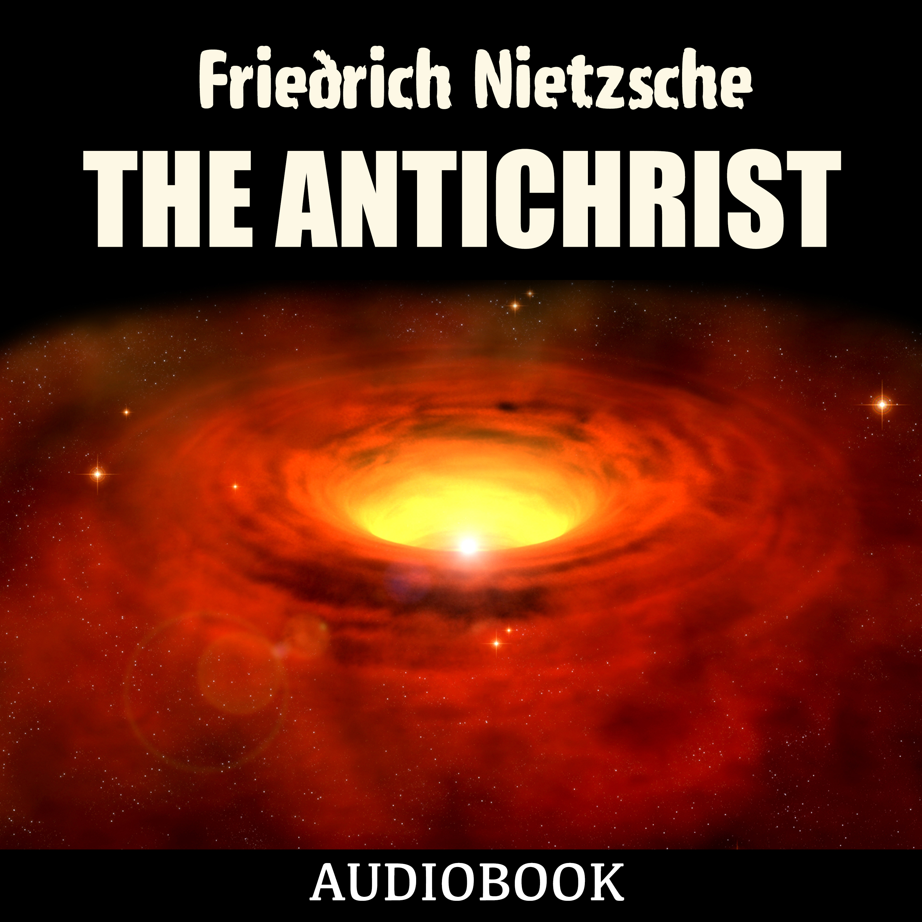Printable The Antichrist Audiobook Cover Art