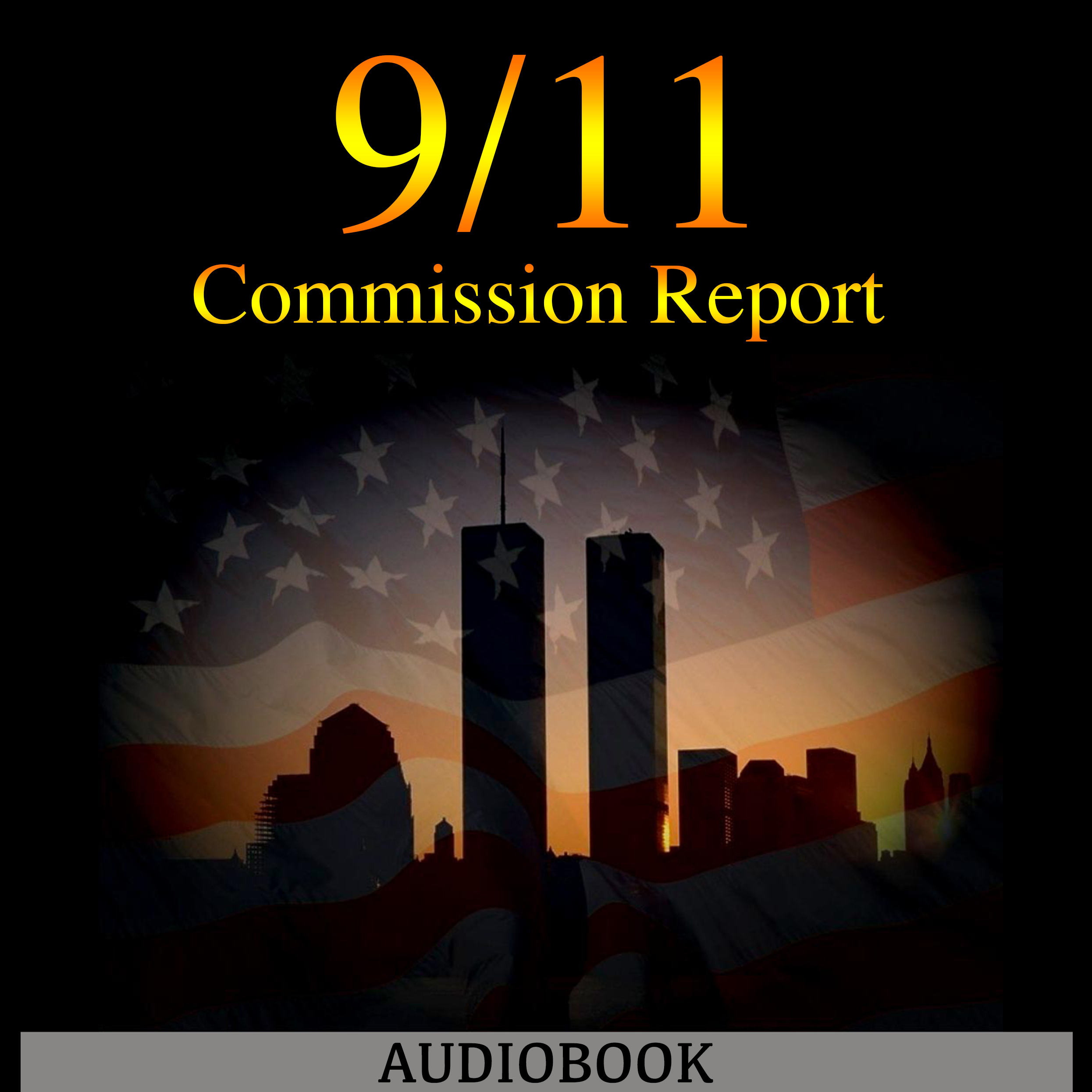 Printable The 9/11 Commission Report Audiobook Cover Art