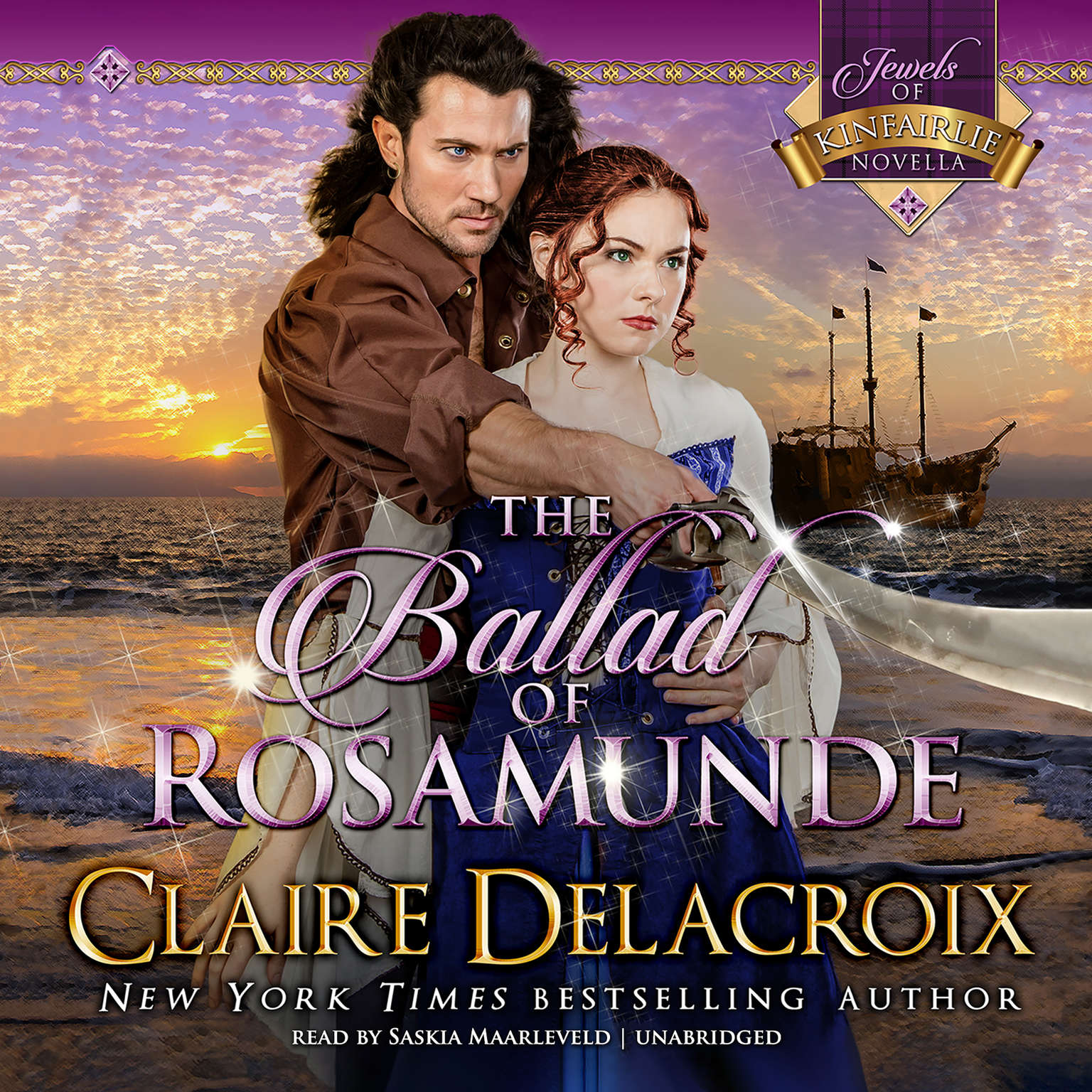 Printable The Ballad of Rosamunde Audiobook Cover Art