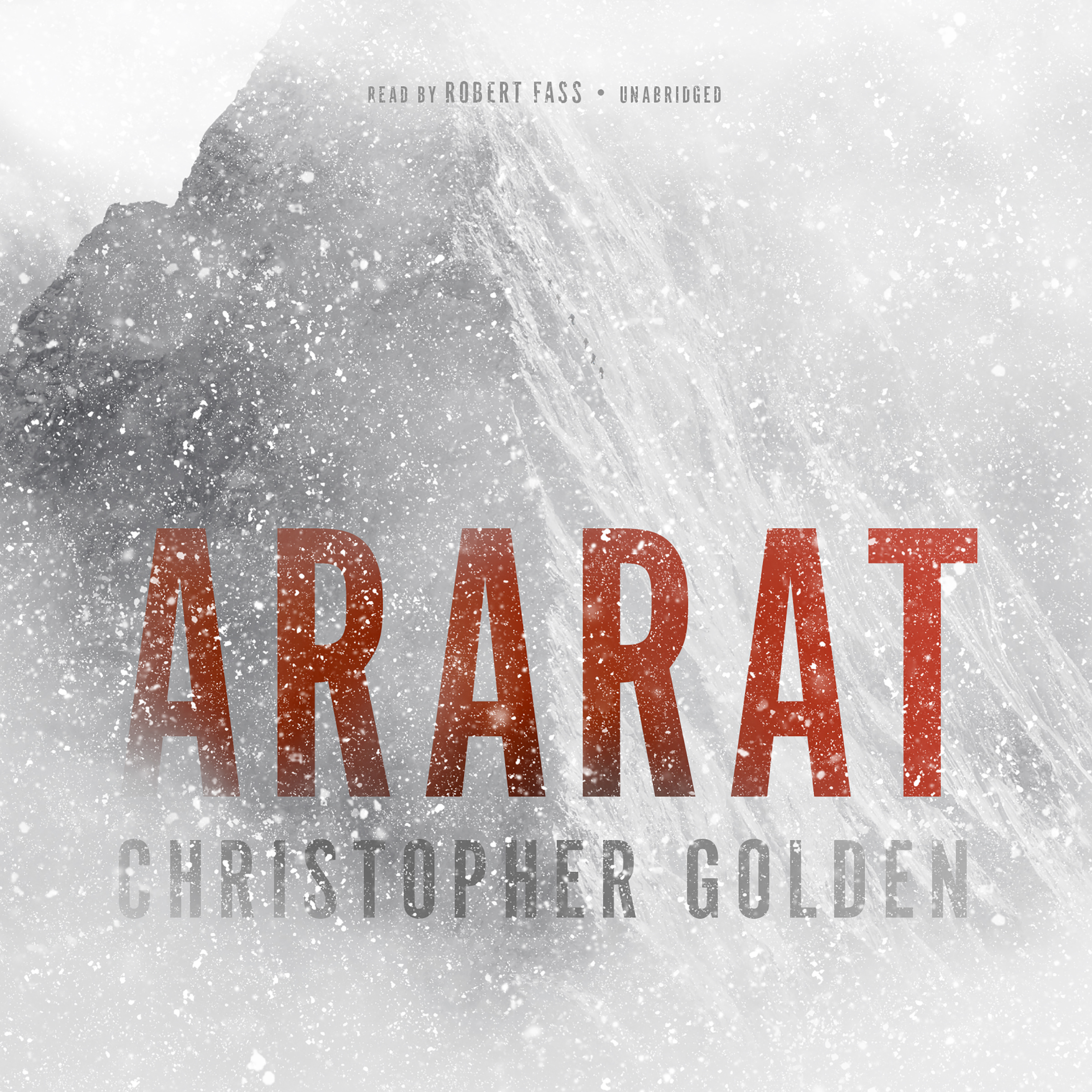 Printable Ararat Audiobook Cover Art