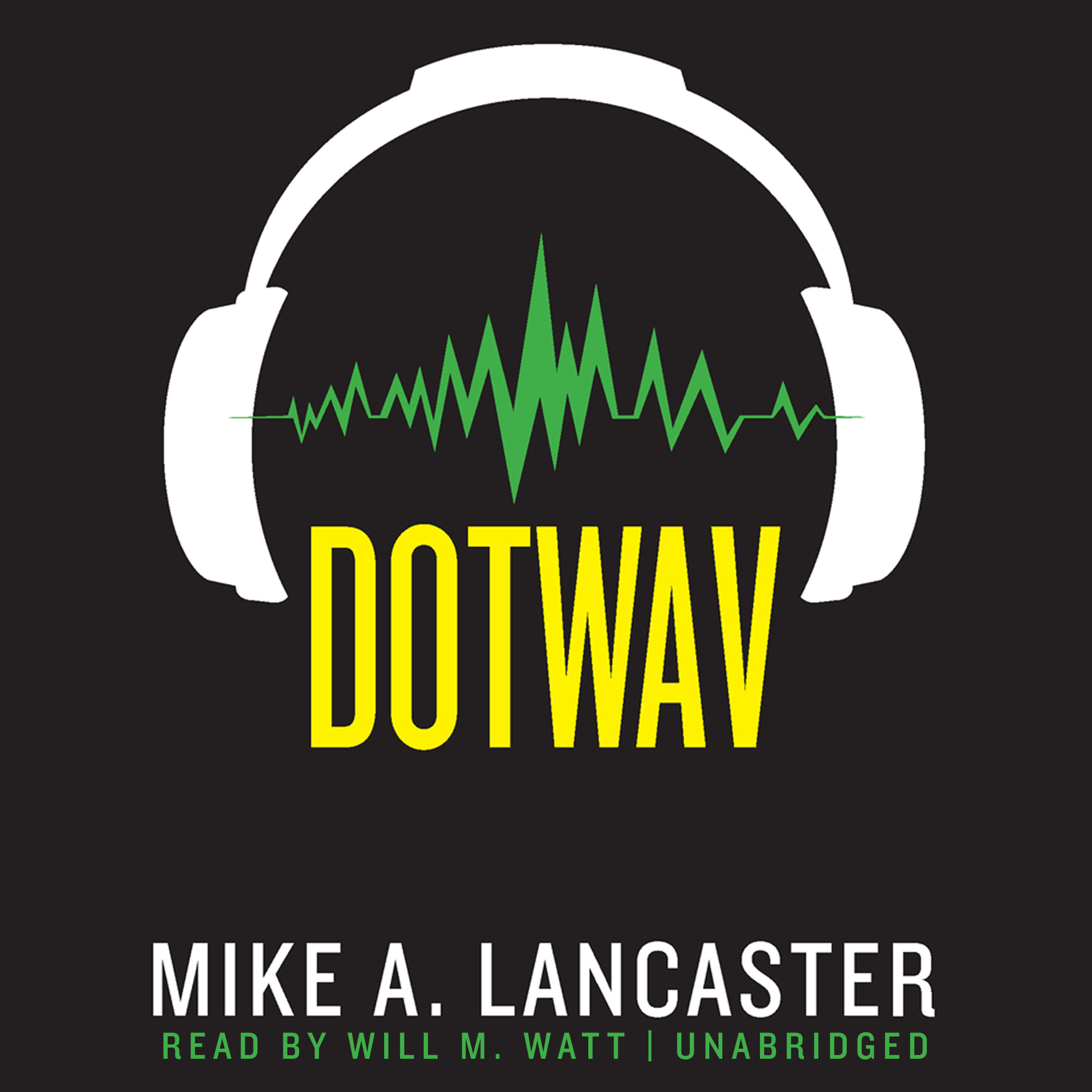 Printable dotwav Audiobook Cover Art