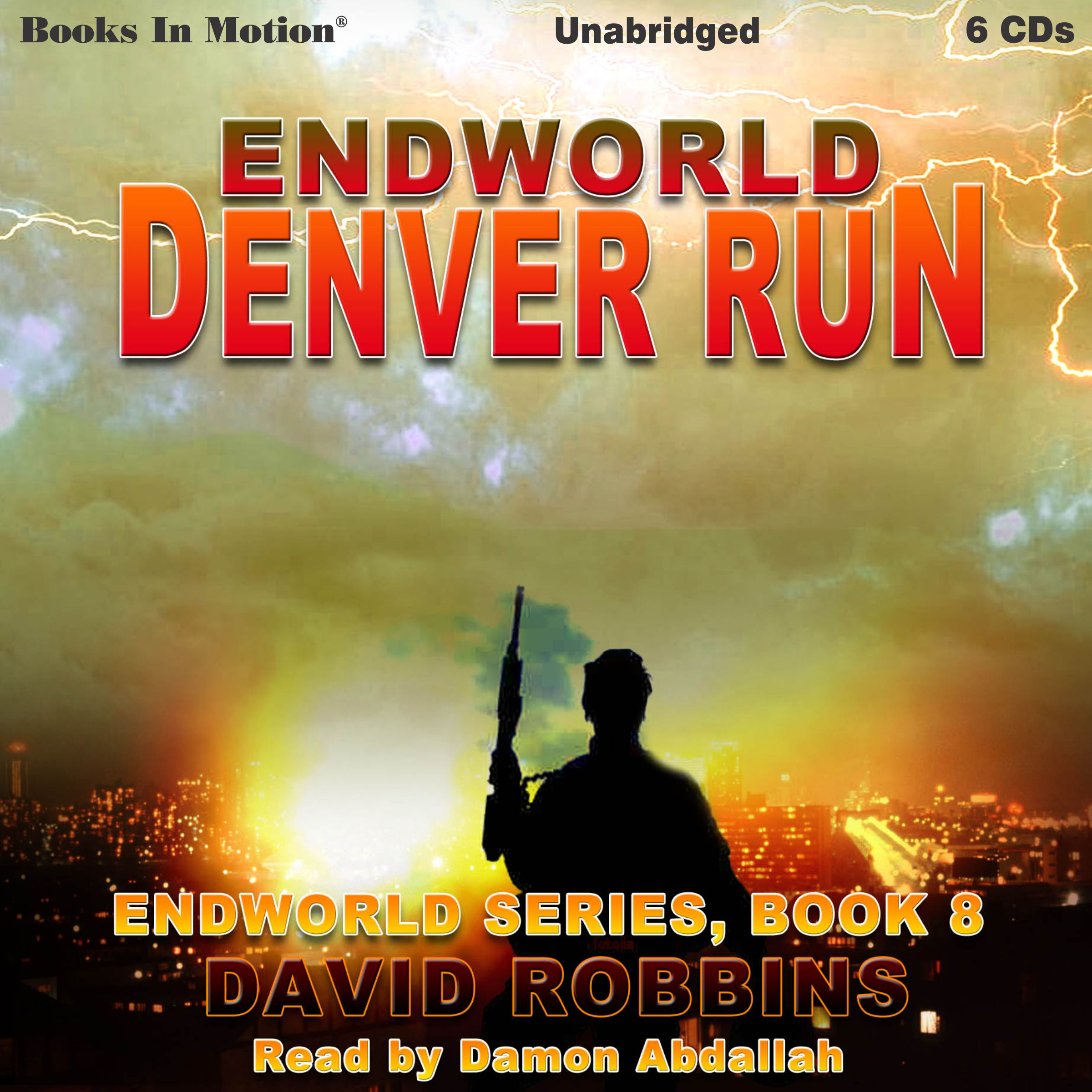 Printable Denver Run Audiobook Cover Art