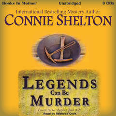 Legends Can Be Murder Audiobook, by Connie Shelton