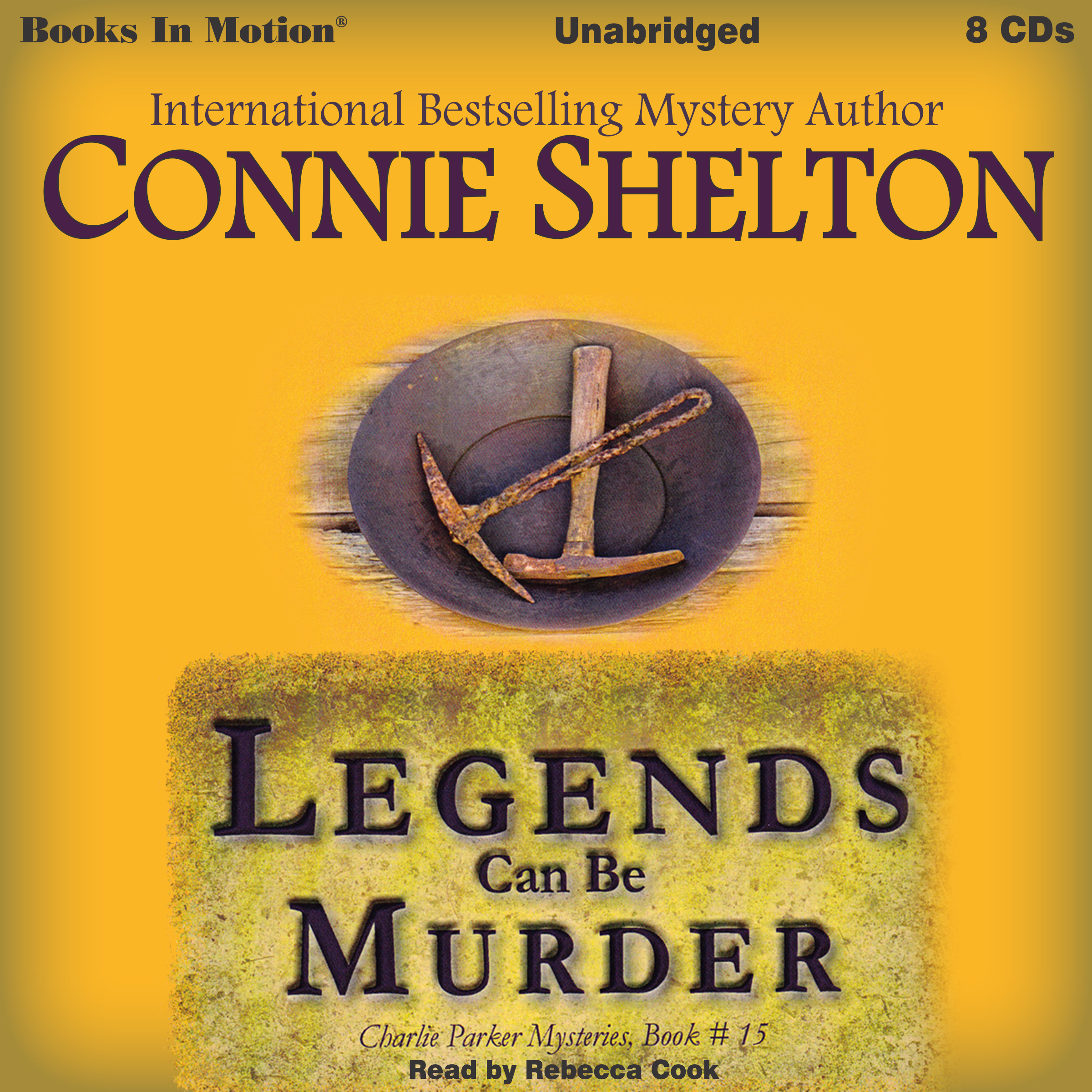 Printable Legends Can Be Murder Audiobook Cover Art