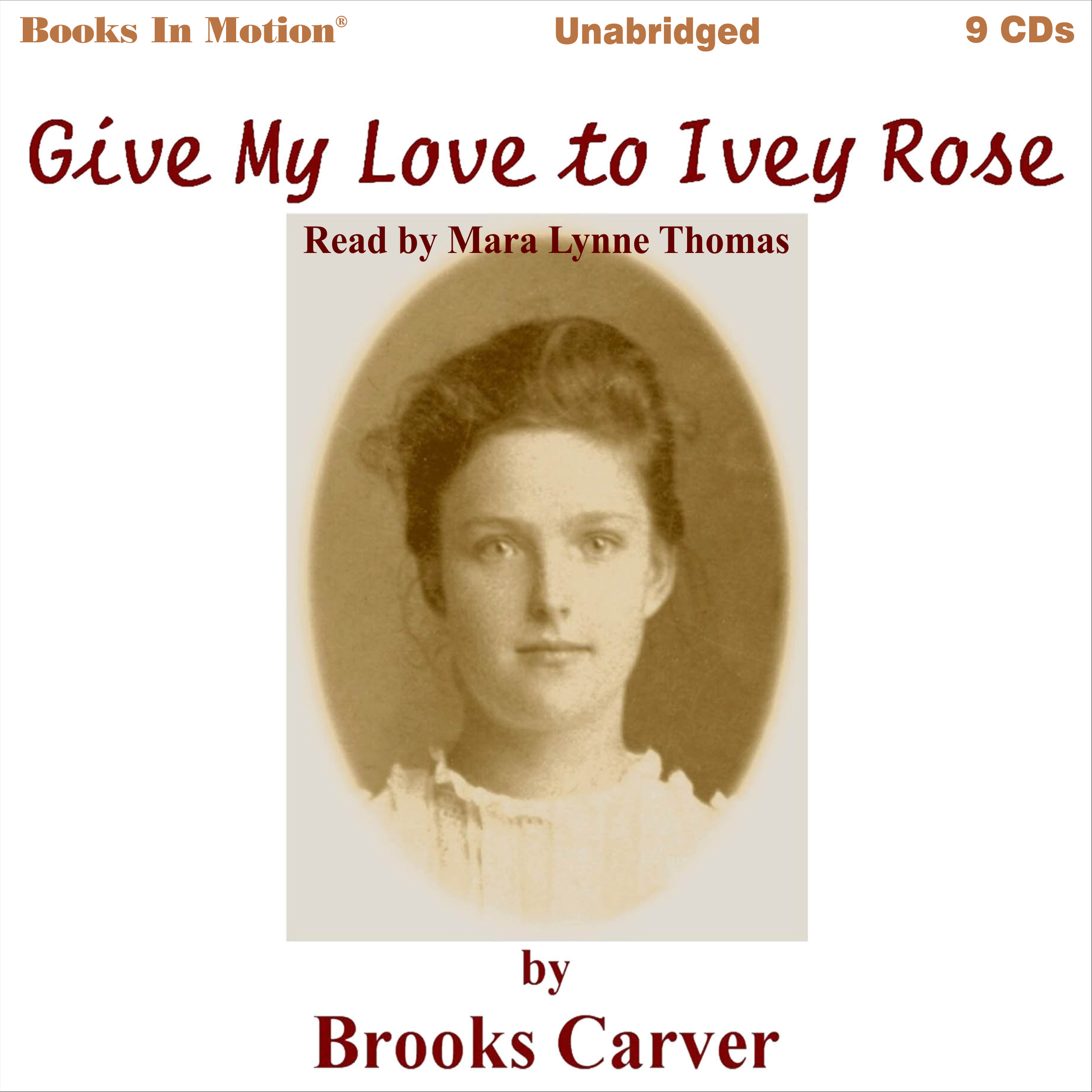 Printable Give My Love To Ivey Rose Audiobook Cover Art