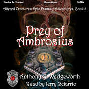 Prey of Ambrosius Audiobook, by Anthony G. Wedgeworth