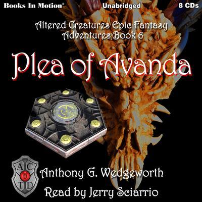 Plea of Avanda Audiobook, by Anthony G. Wedgeworth