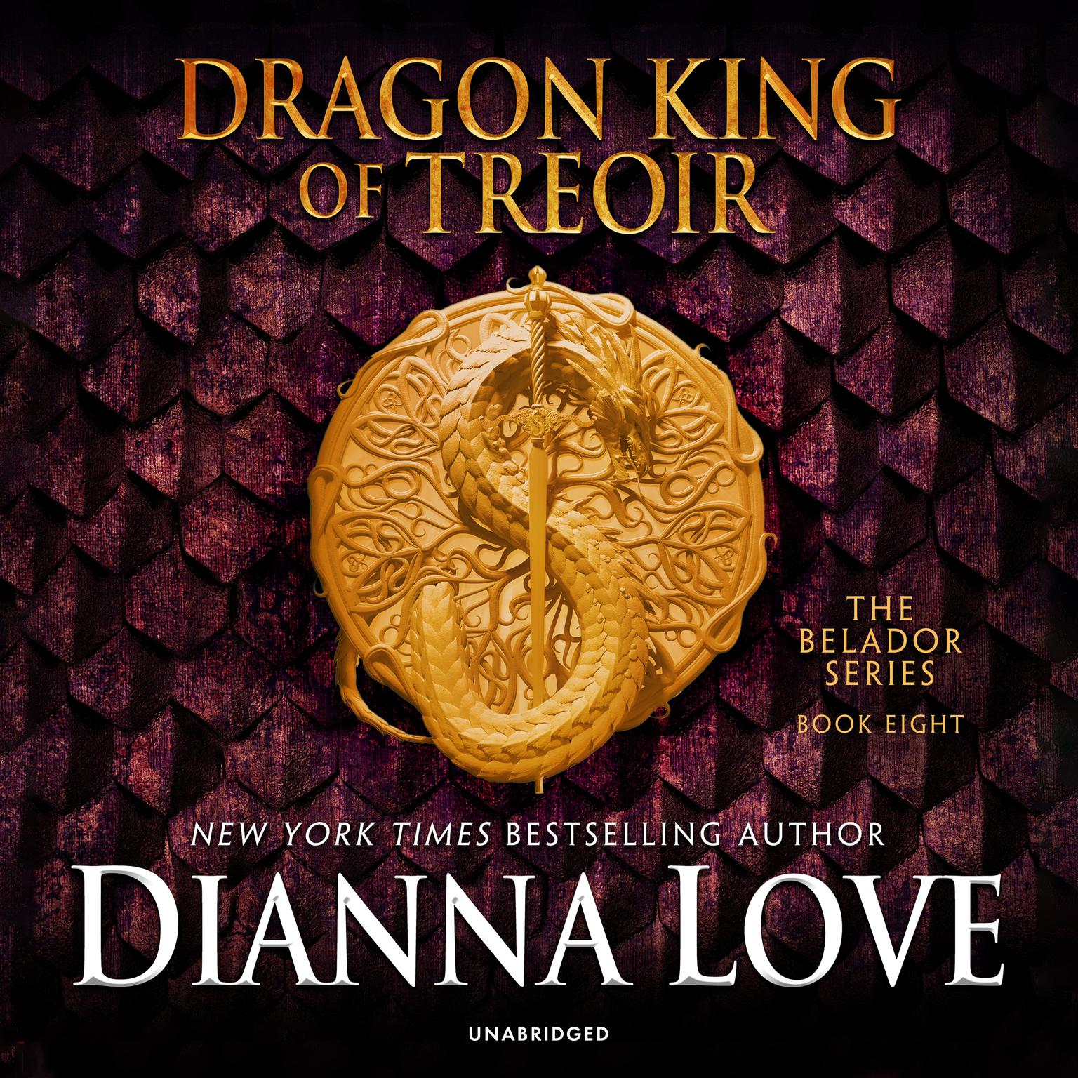 Printable Dragon King of Treoir Audiobook Cover Art