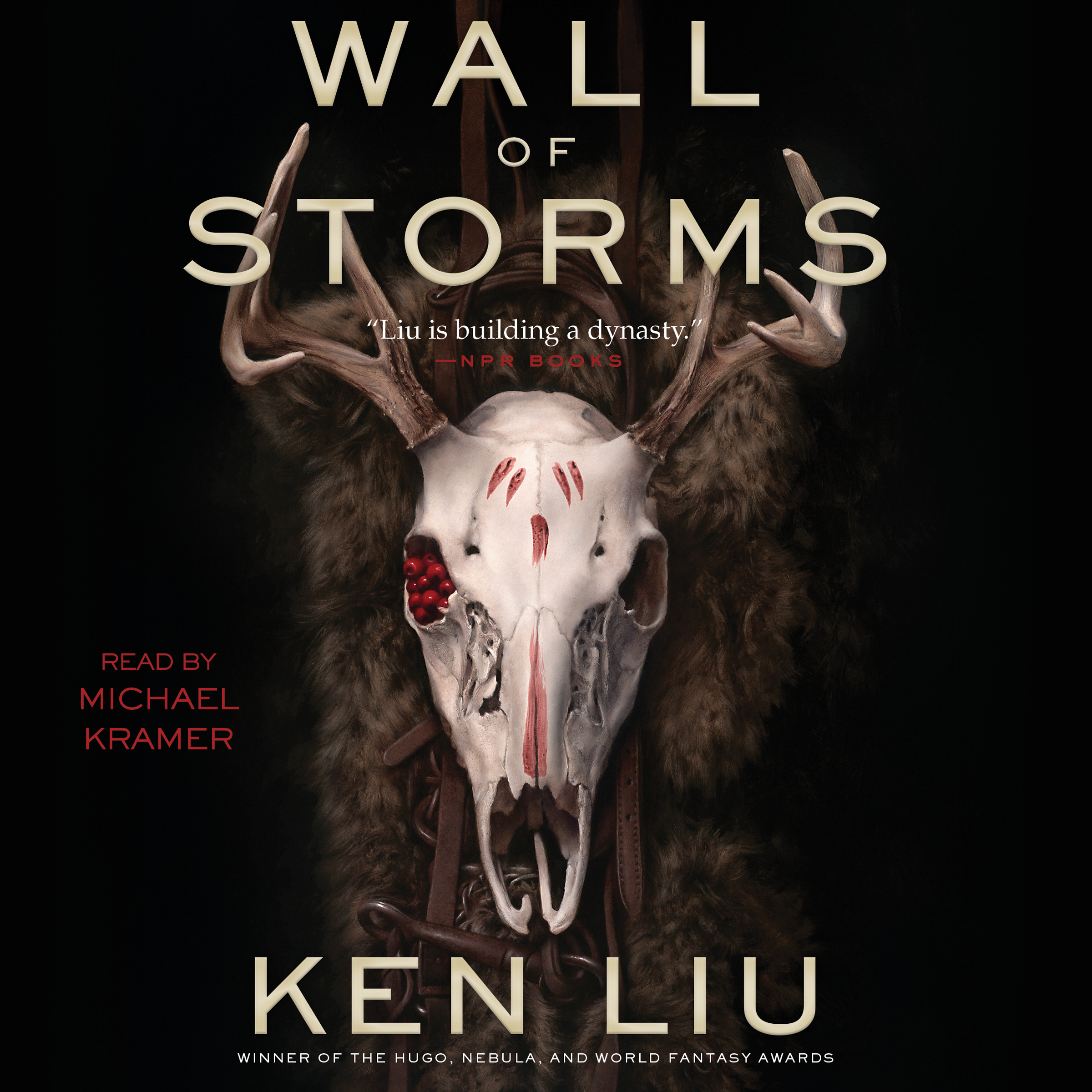 Printable The Wall of Storms Audiobook Cover Art