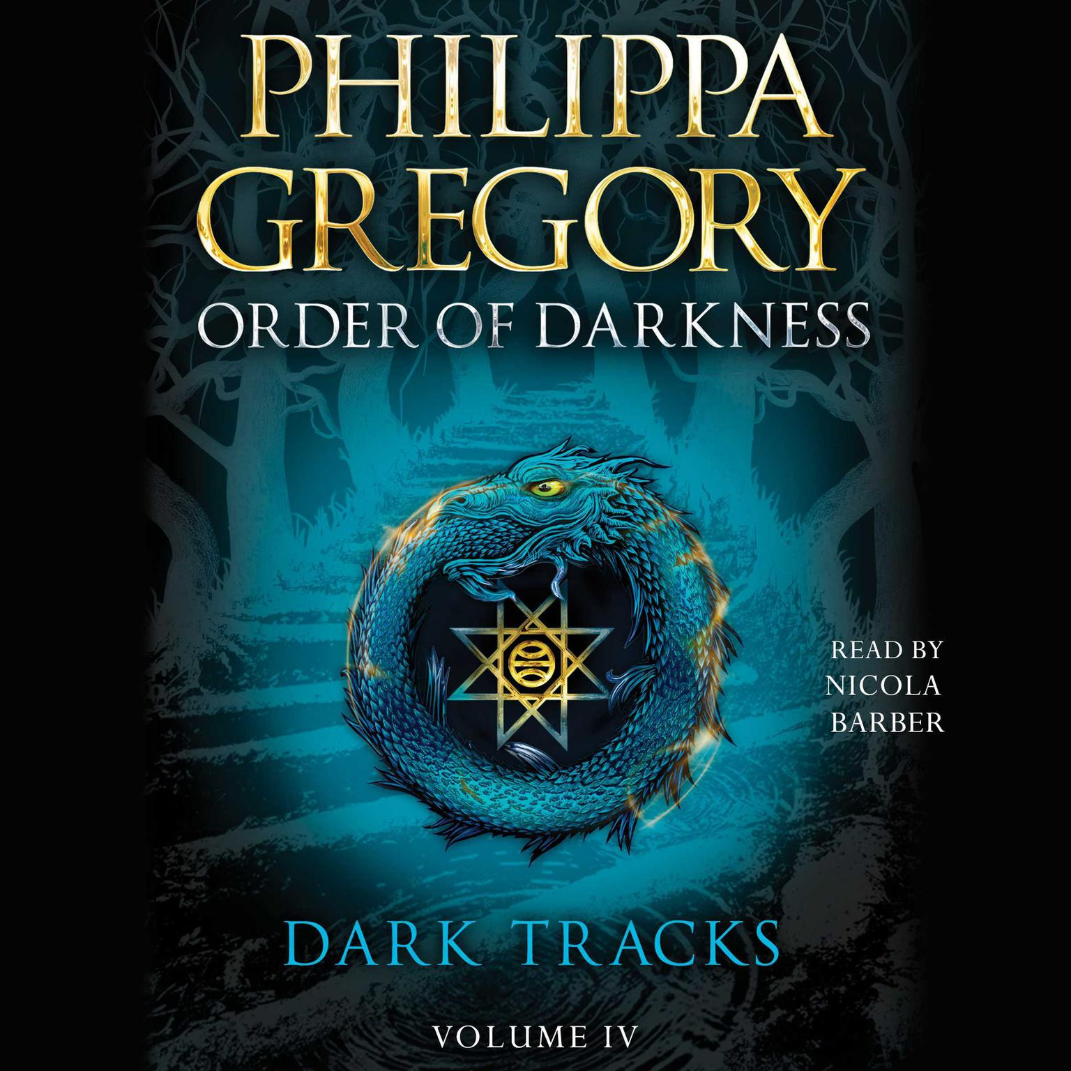 Printable Dark Tracks Audiobook Cover Art