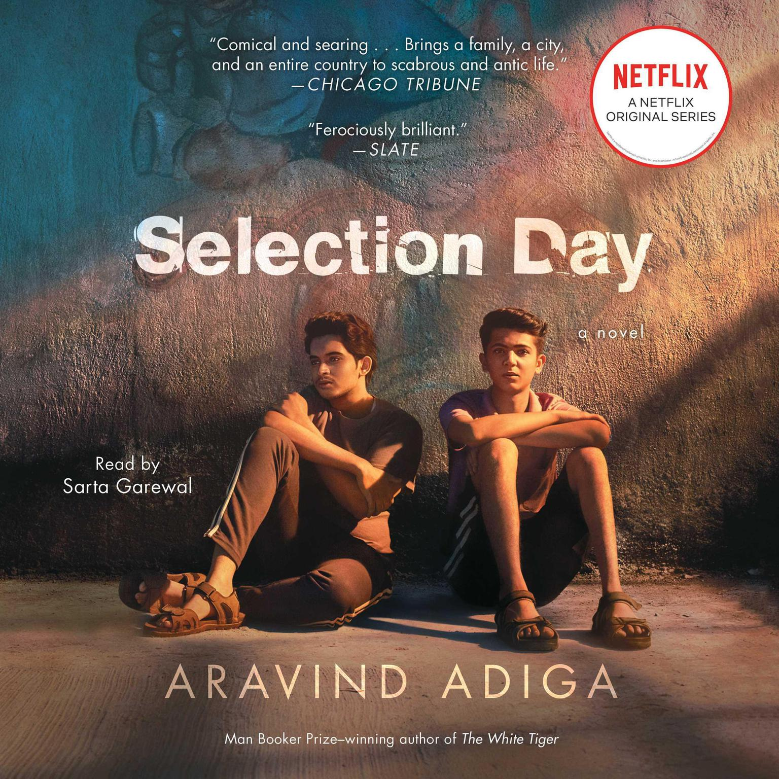 Printable Selection Day: A Novel Audiobook Cover Art
