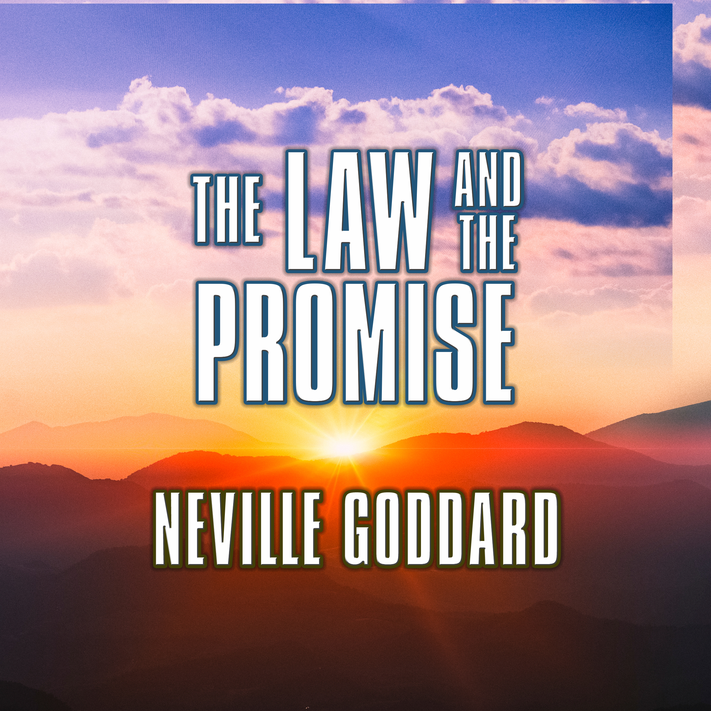Printable The Law and the Promise Audiobook Cover Art