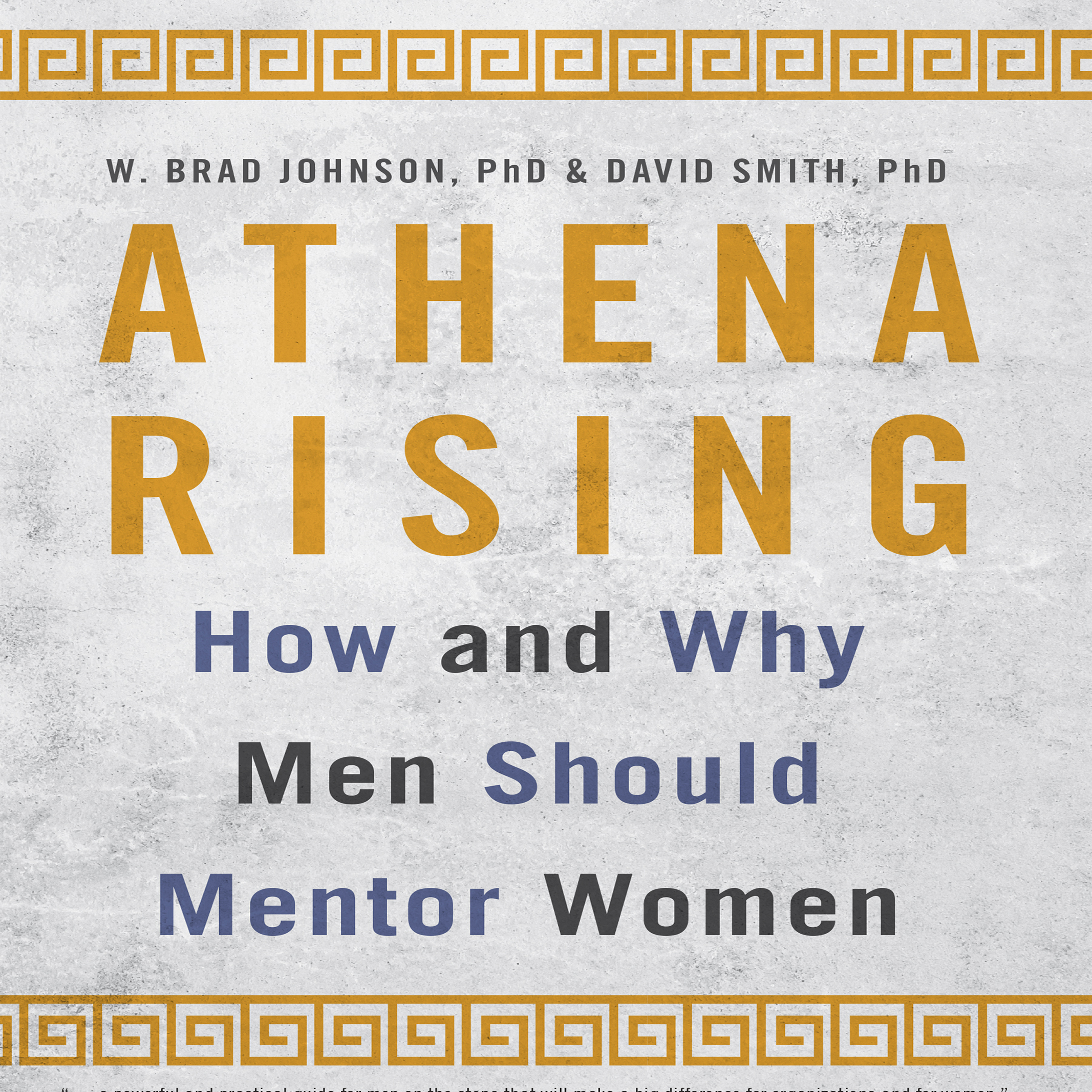 Printable Athena Rising: How and Why Men Should Mentor Women Audiobook Cover Art