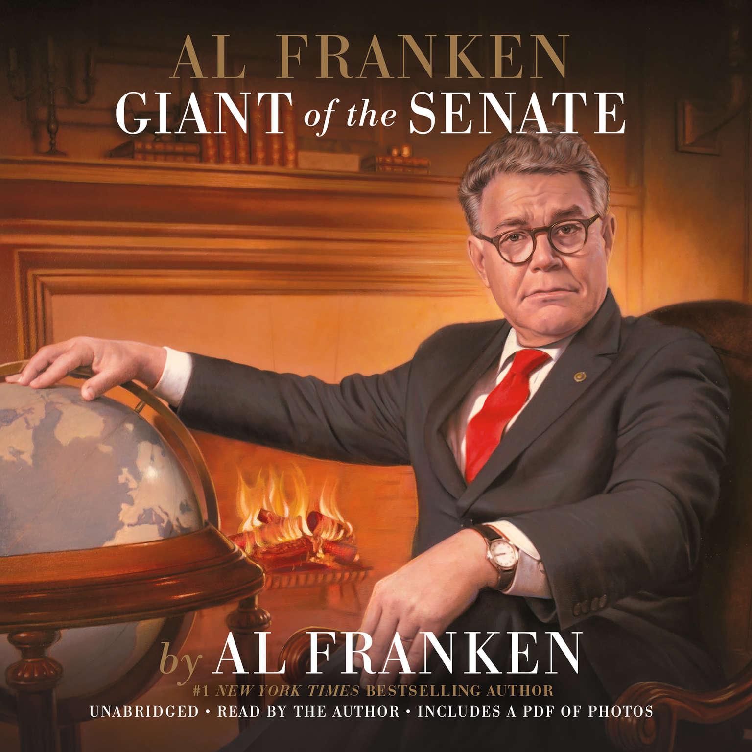 Printable Al Franken, Giant of the Senate Audiobook Cover Art