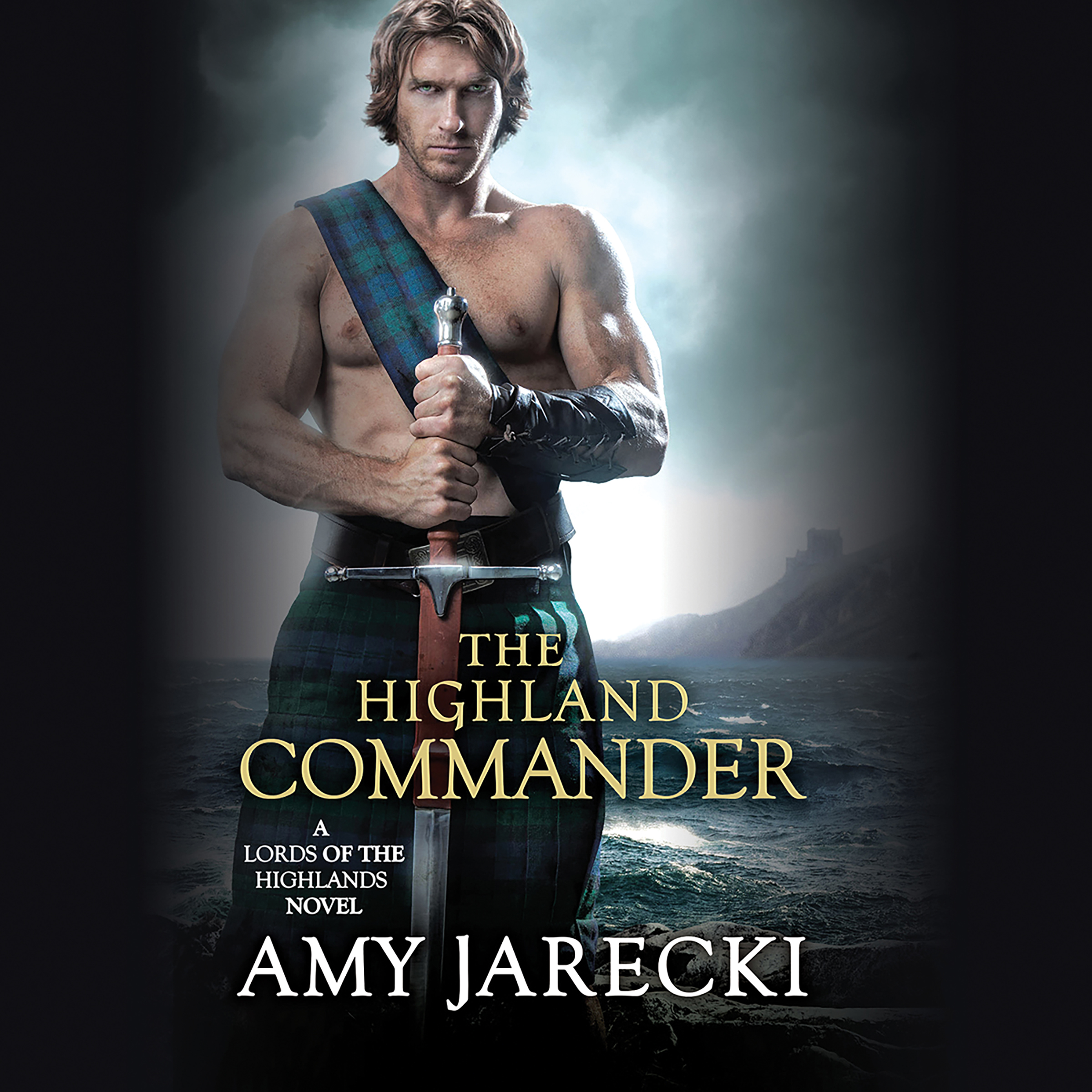 Printable The Highland Commander Audiobook Cover Art