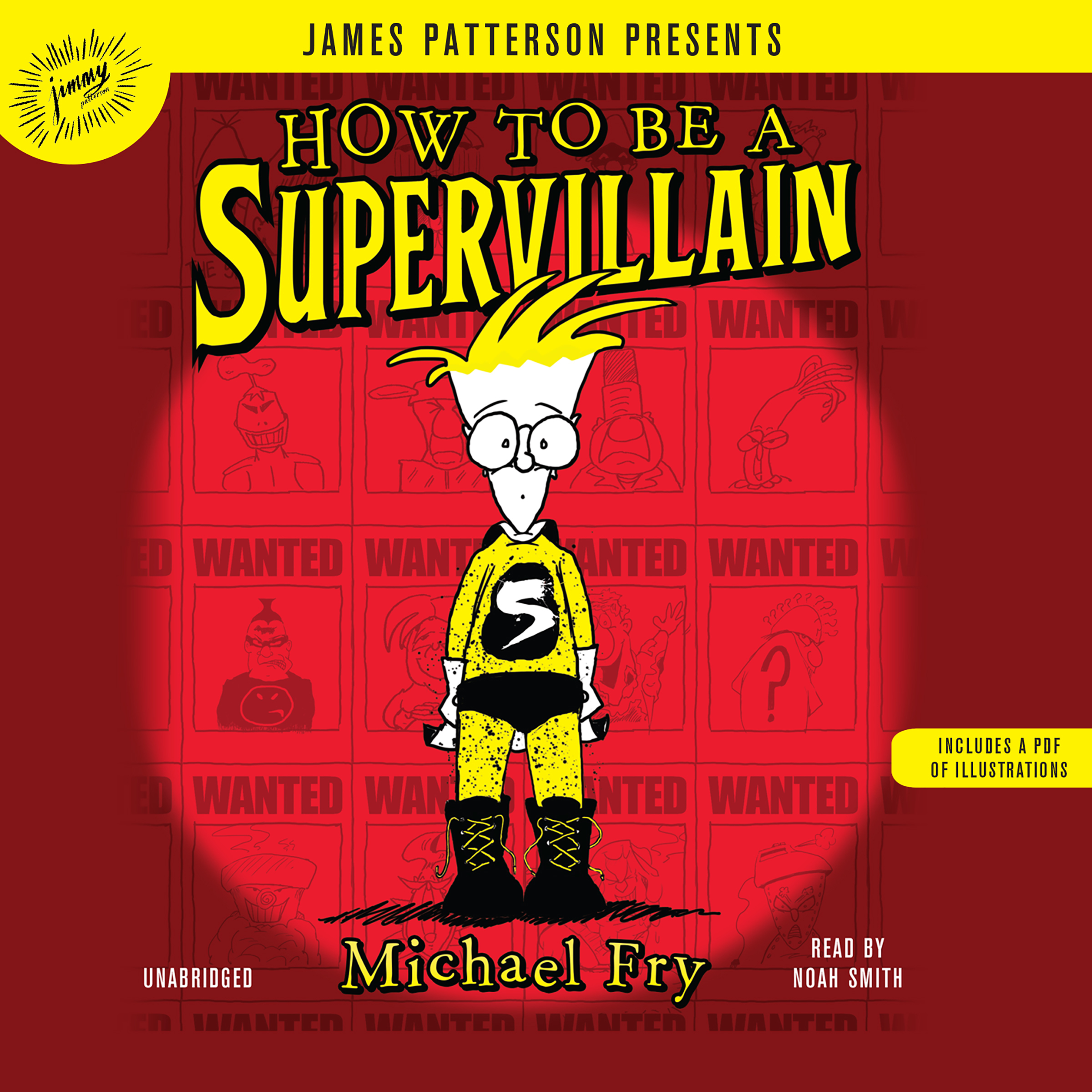 Printable How to Be a Supervillain Audiobook Cover Art