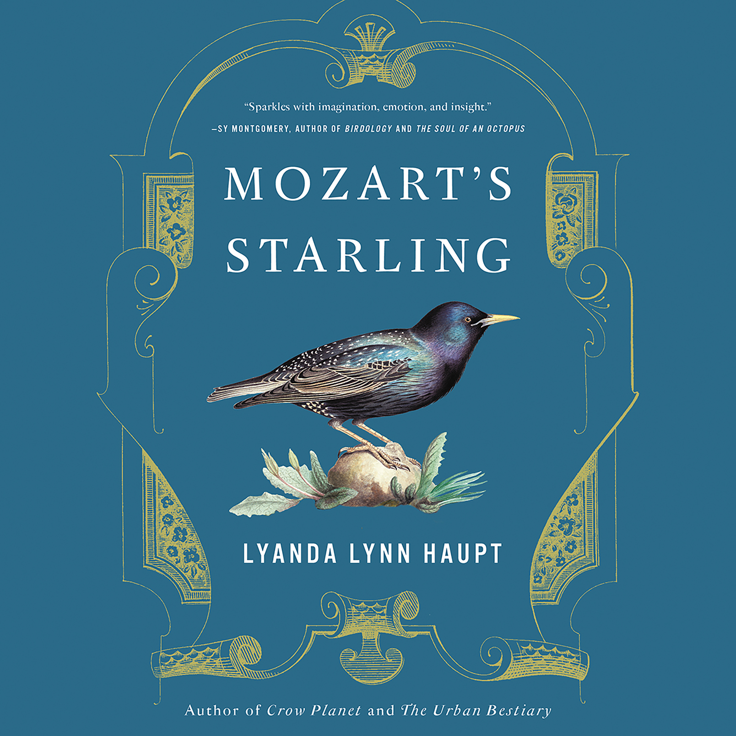 Printable Mozart's Starling Audiobook Cover Art