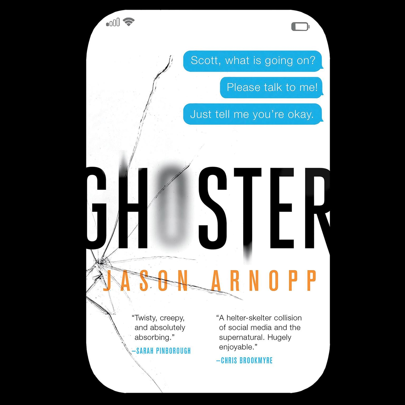 Ghoster Audiobook, by Jason Arnopp