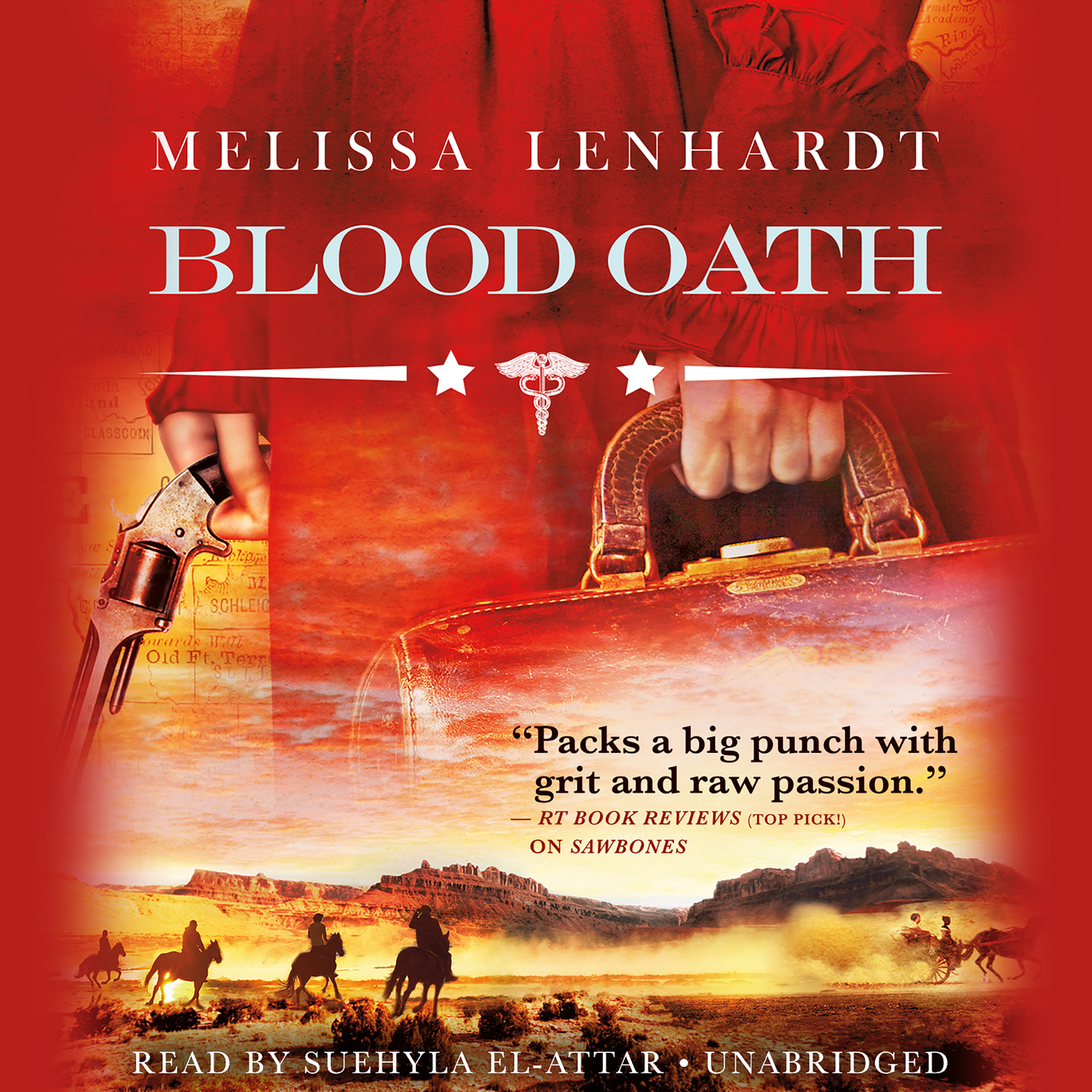 Printable Blood Oath Audiobook Cover Art