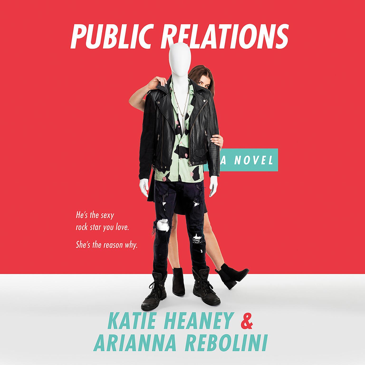 Printable Public Relations Audiobook Cover Art