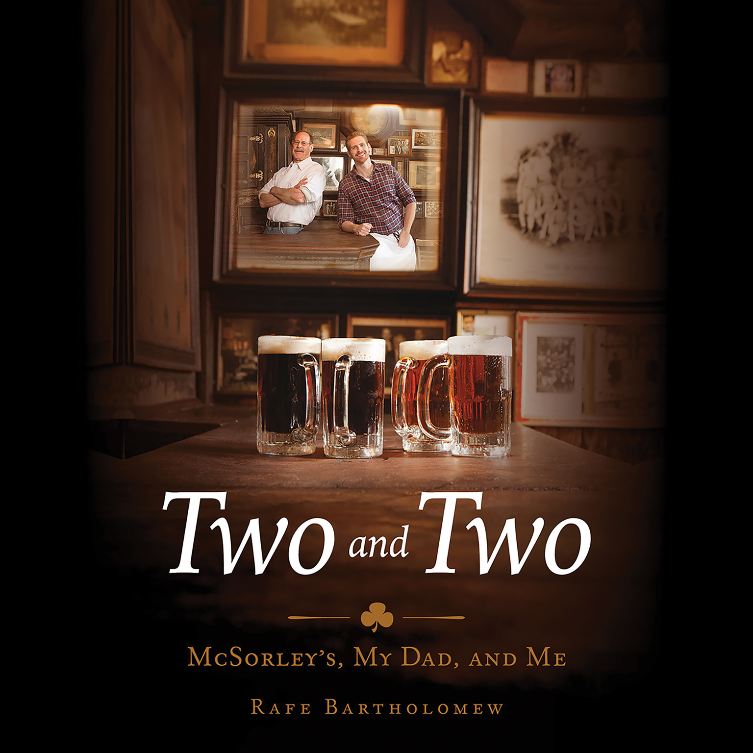 Printable Two and Two: McSorley's, My Dad, and Me Audiobook Cover Art