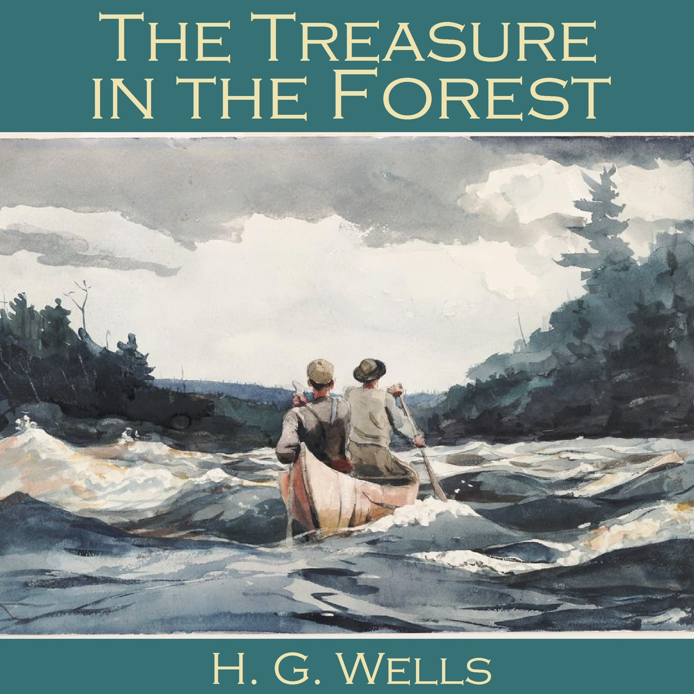 Printable The Treasure in the Forest Audiobook Cover Art