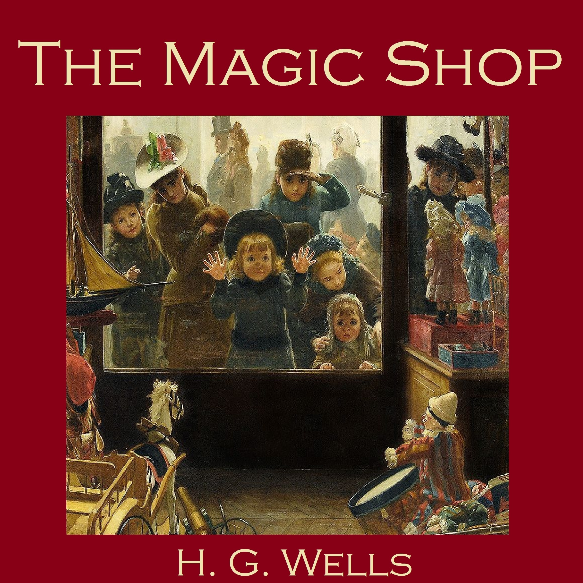 Printable The Magic Shop Audiobook Cover Art