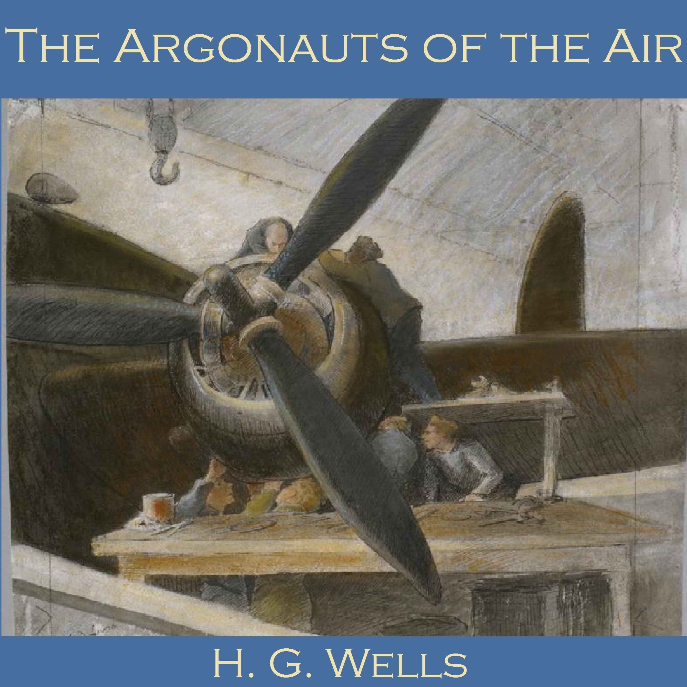 Printable The Argonauts of the Air Audiobook Cover Art